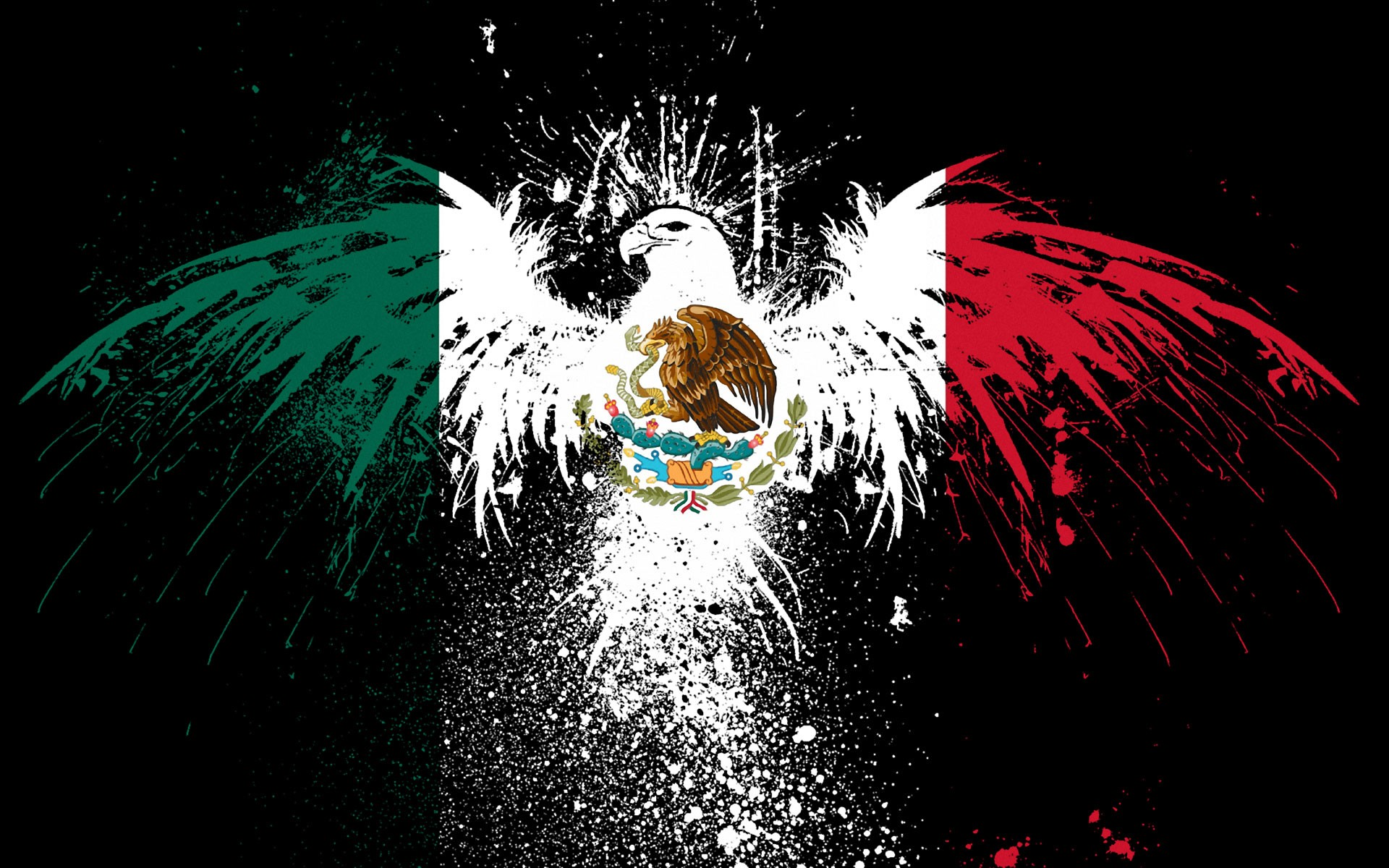 Mexico flag National flag of Mexico