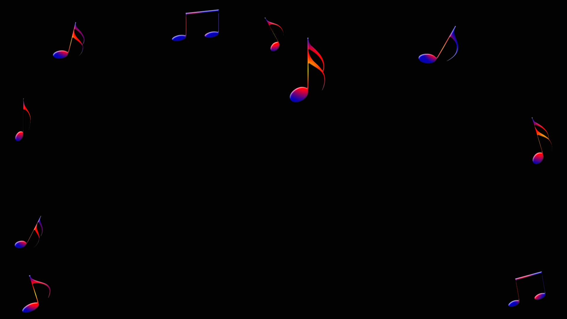 Colorful Music Notes In A Lin Hd Wallpaper Background Images: Musical Background ·① Download Free Beautiful Backgrounds