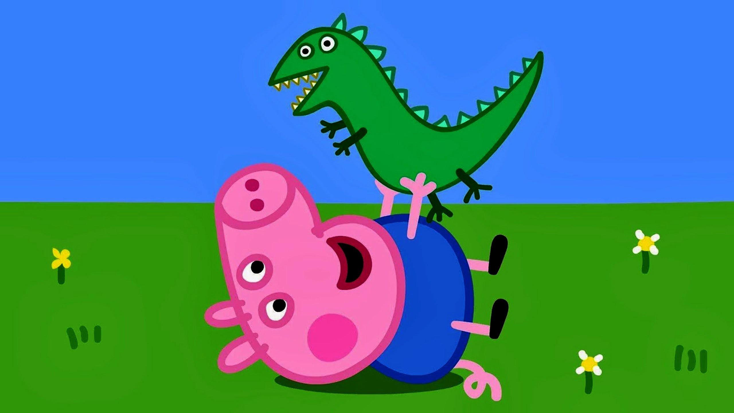 свинка пеппа динозавр джорджа картинка думайте что