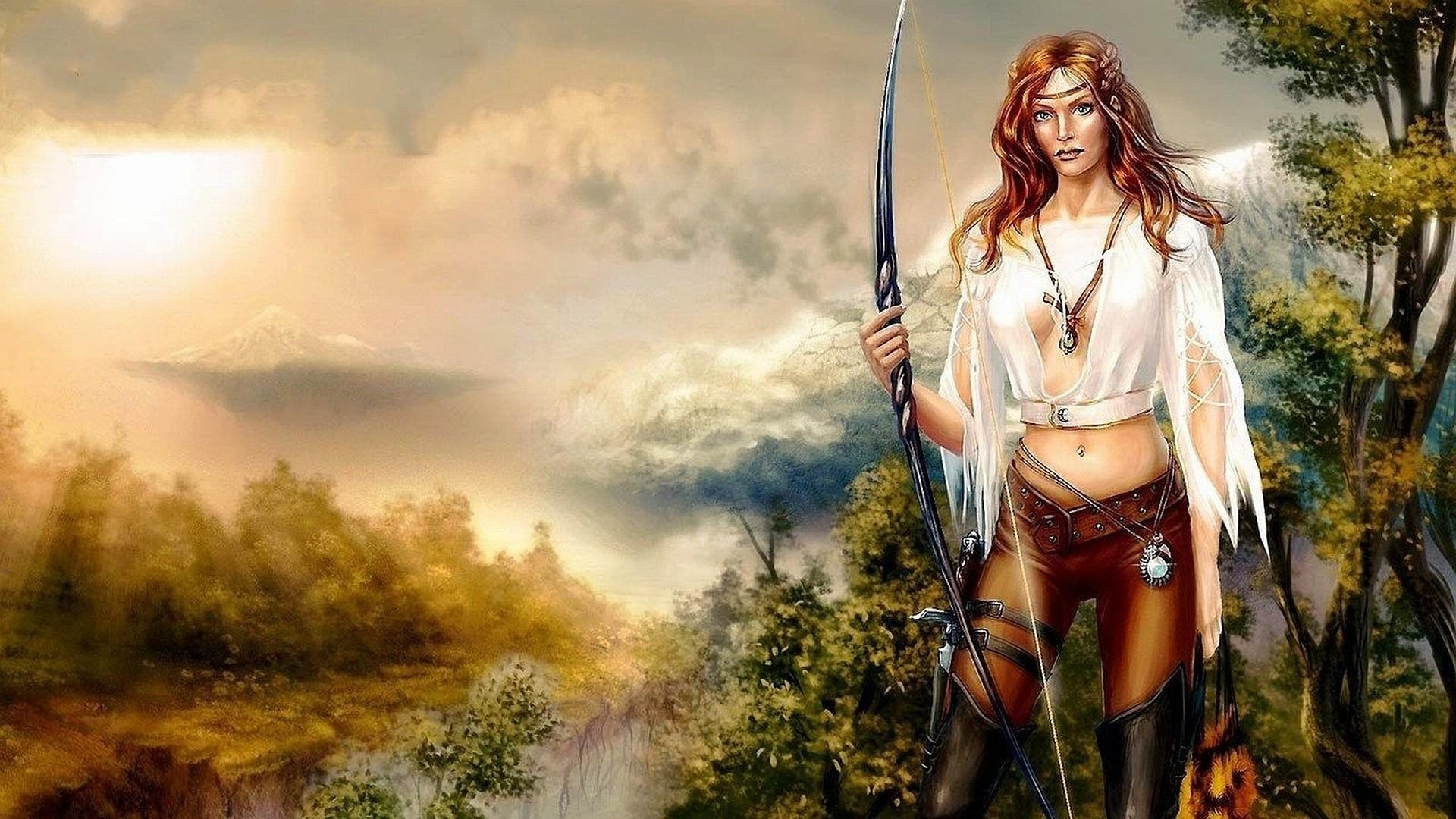 fantasy women wallpapers ·①
