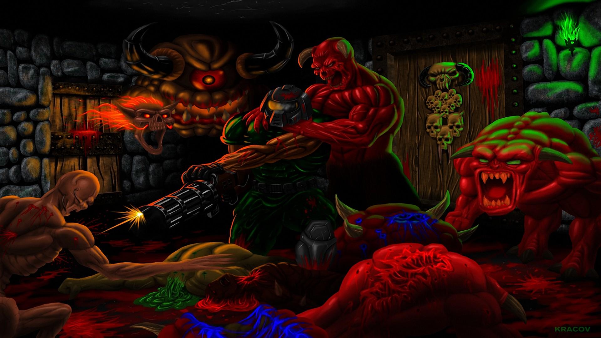Doom wallpaper 1920x1080 ·① Download free full HD ...
