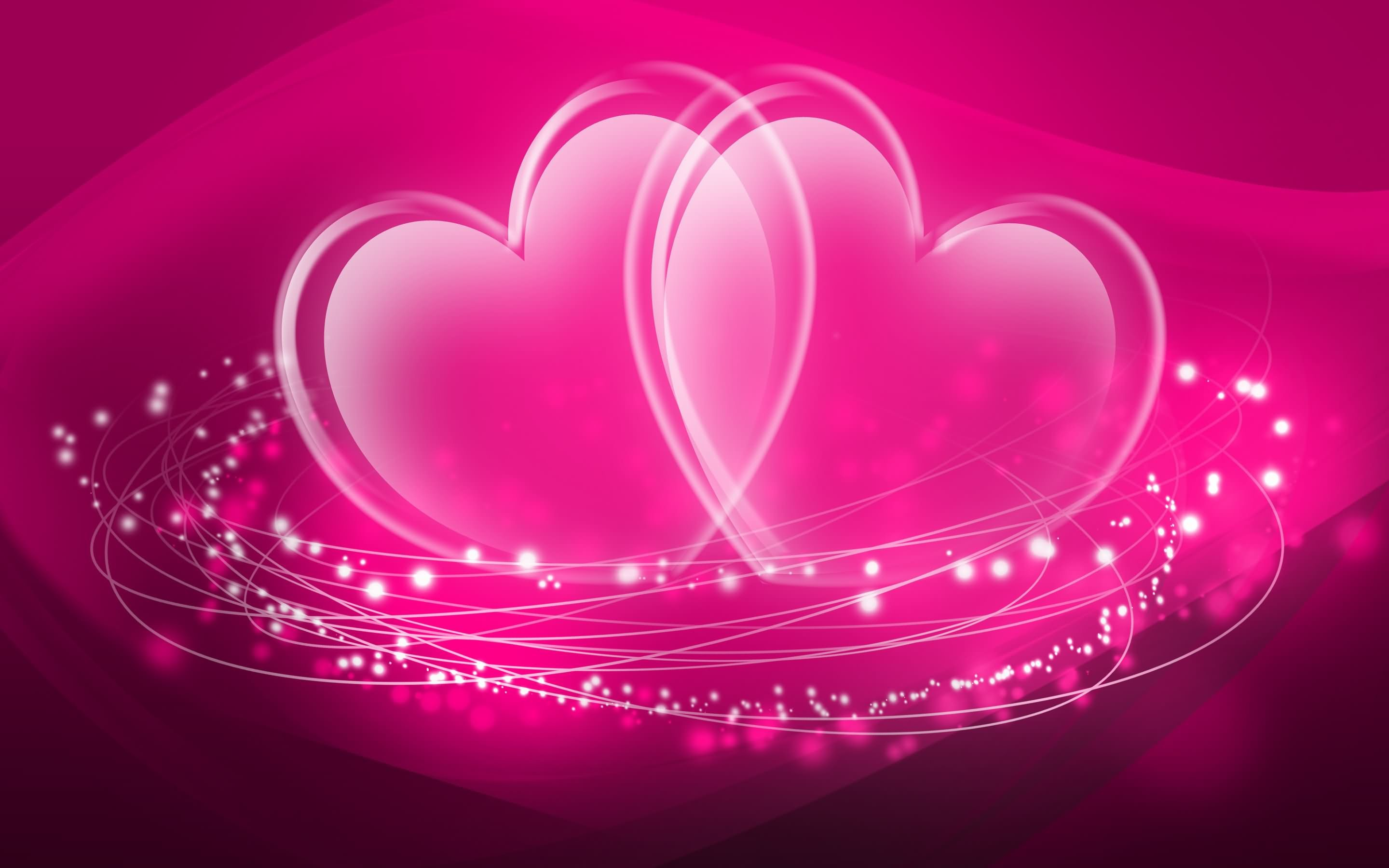 Pink Heart Backgrounds ·① WallpaperTag