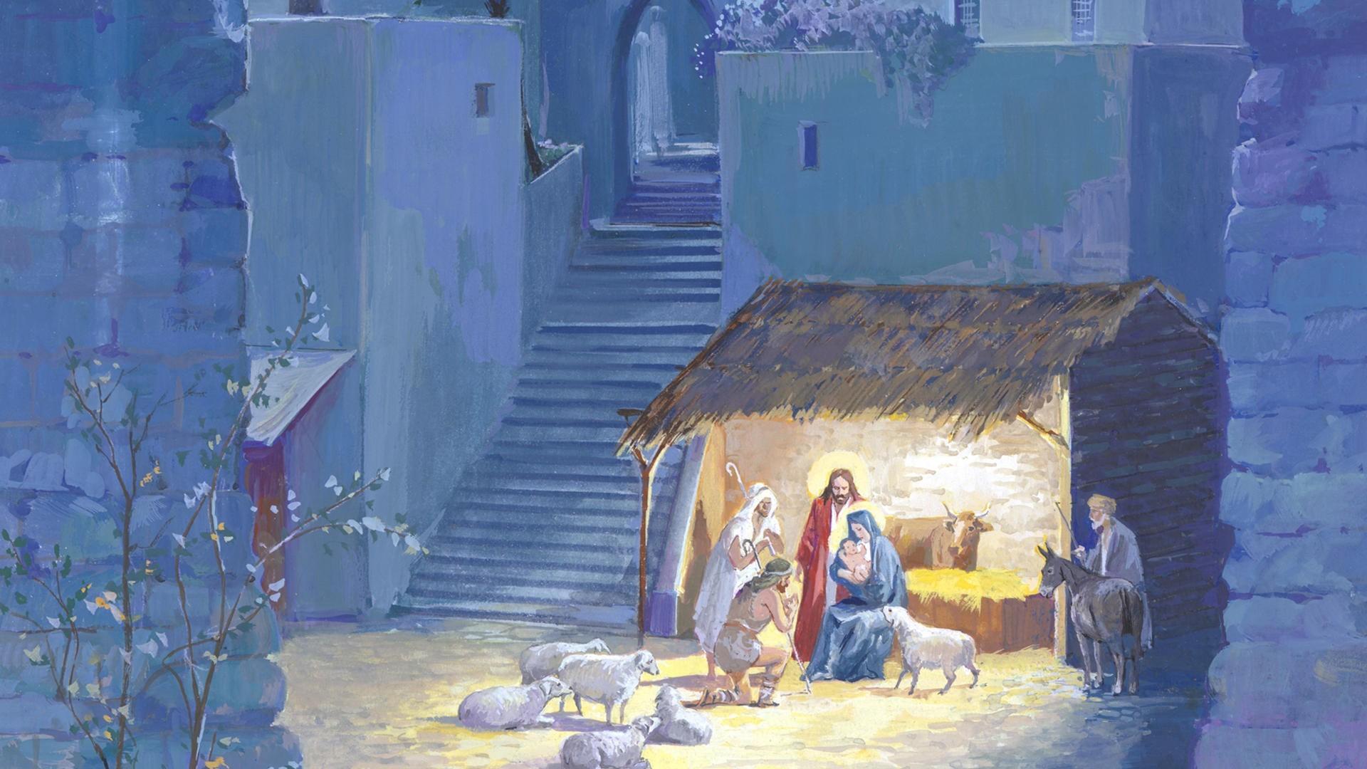 Christmas Love Ipad Air Wallpaper Download: Nativity Wallpaper ·① Download Free Beautiful Full HD