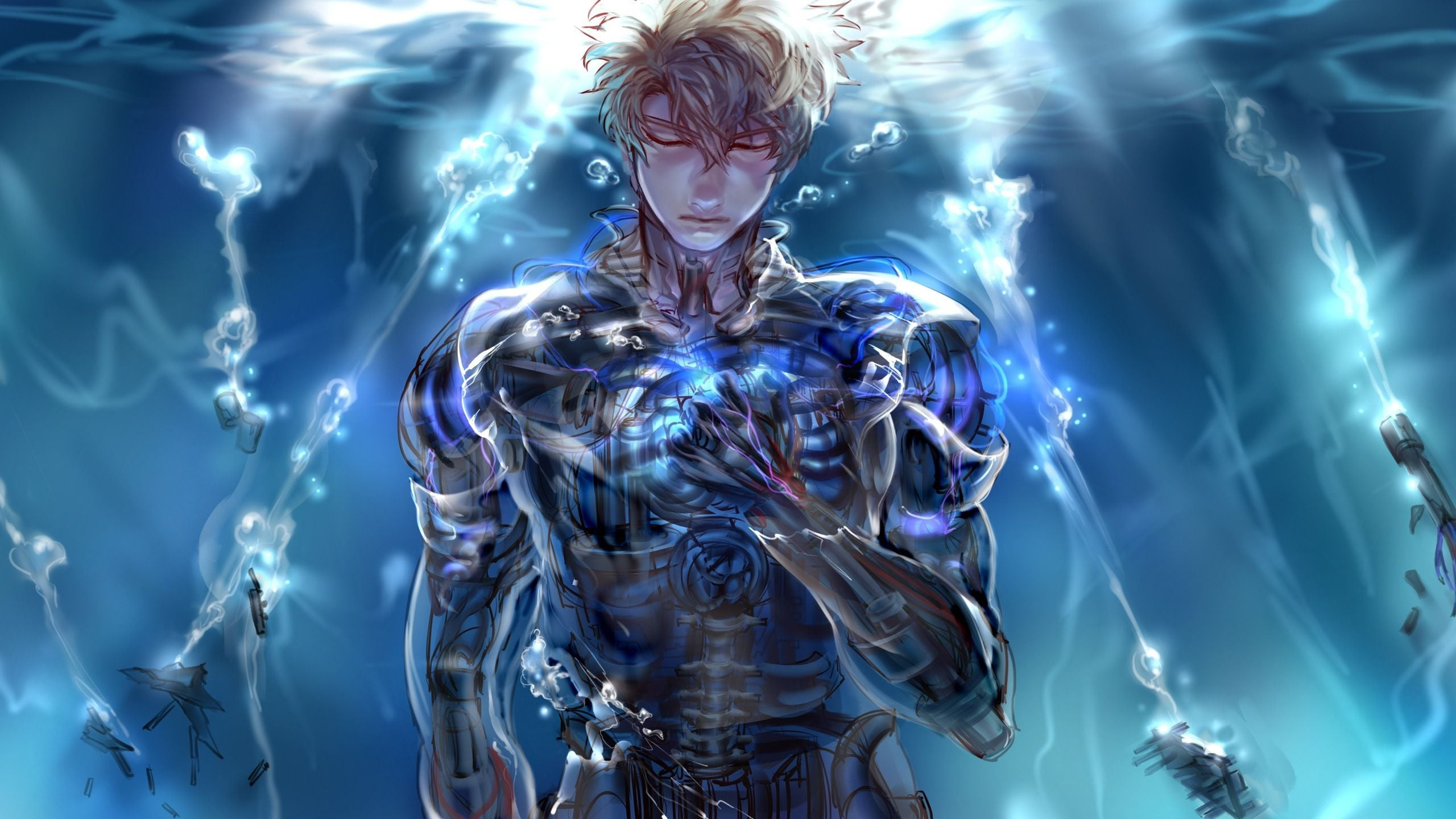 One Punch Man Genos wallpaper ·① Download free backgrounds ...