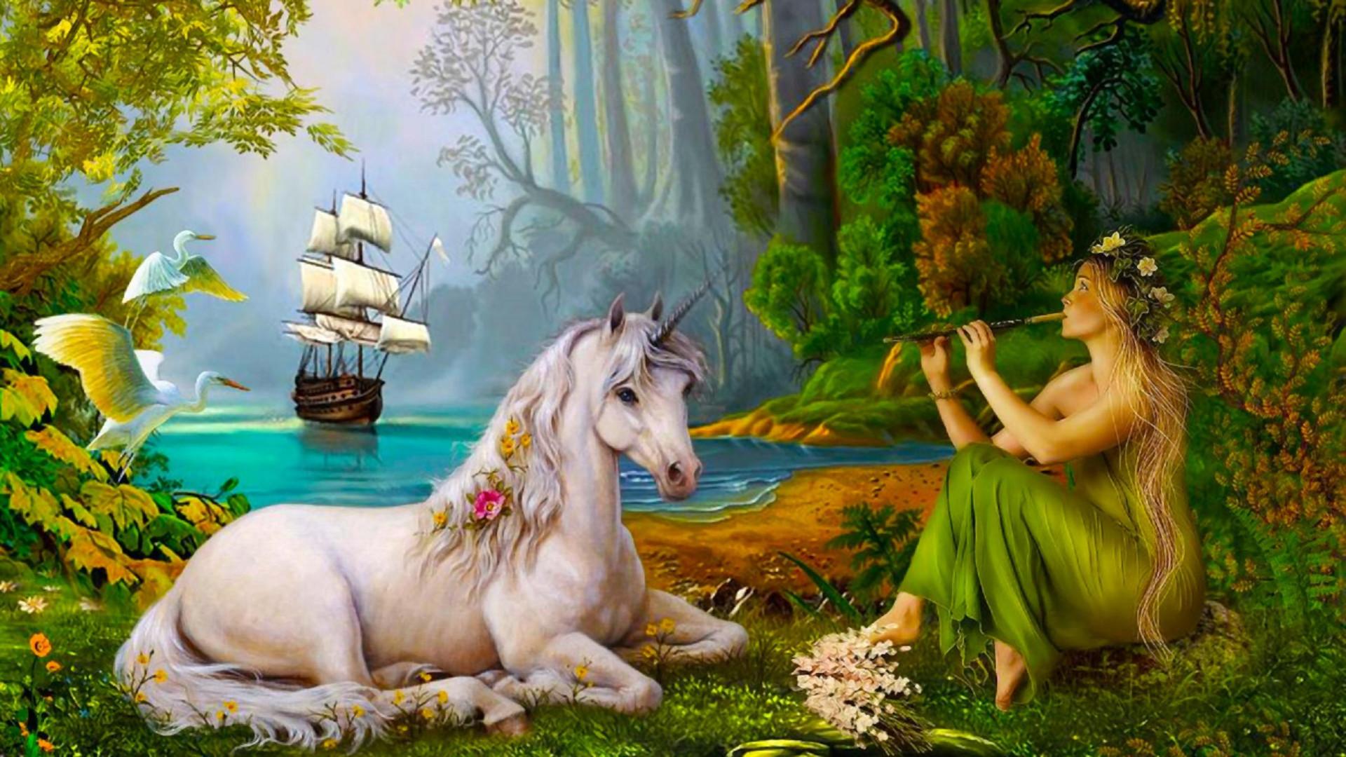 Картинки фэнтези животные и природа