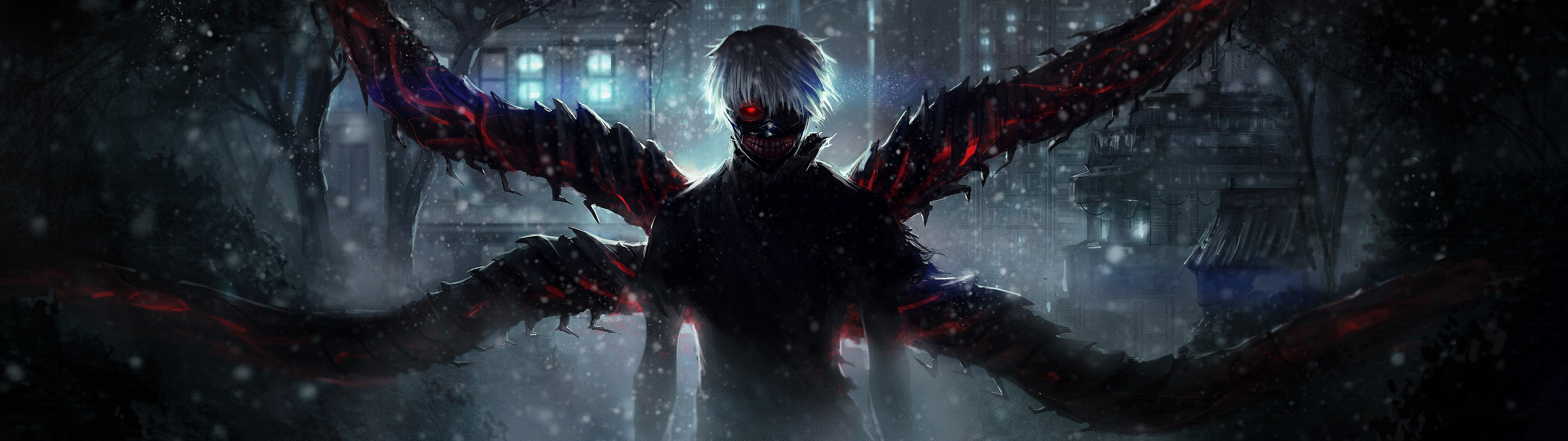 Dual monitor wallpaper anime download free awesome for Screen ecran
