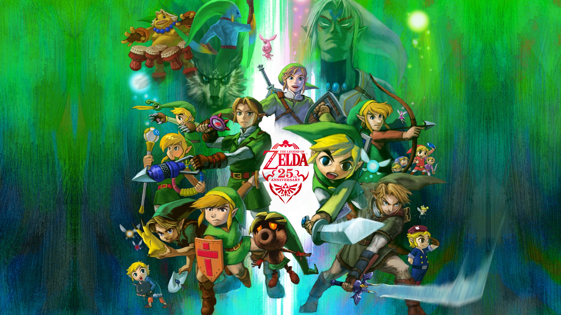 The Legend Of Zelda Wallpapers Wallpapertag