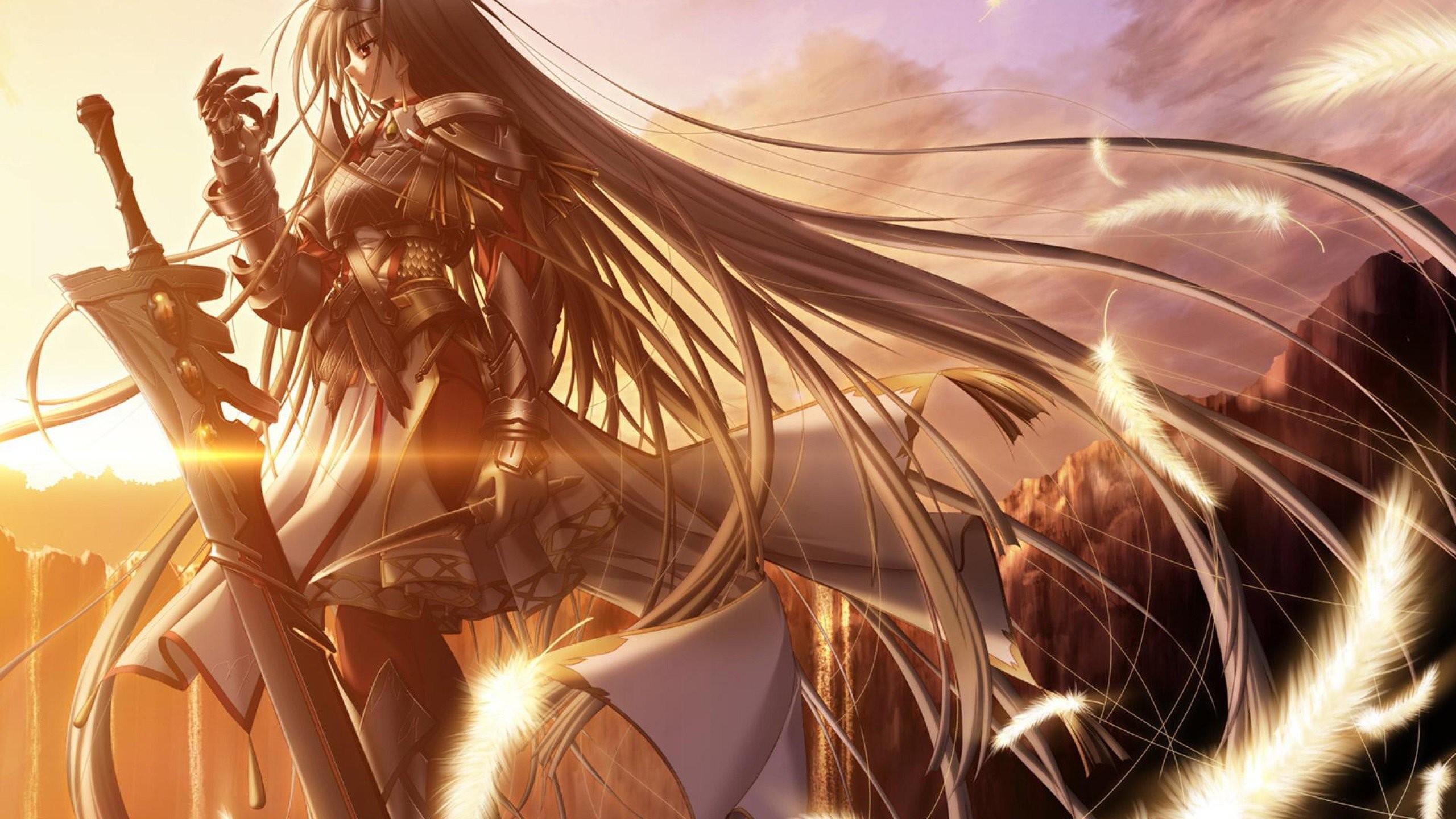 Anime Warrior Wallpaper 1