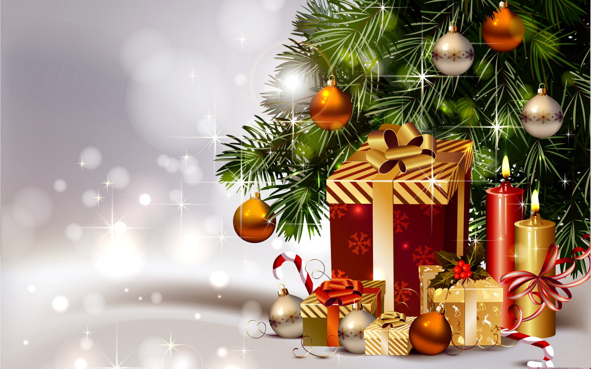 3D Christmas Backgrounds ·① WallpaperTag