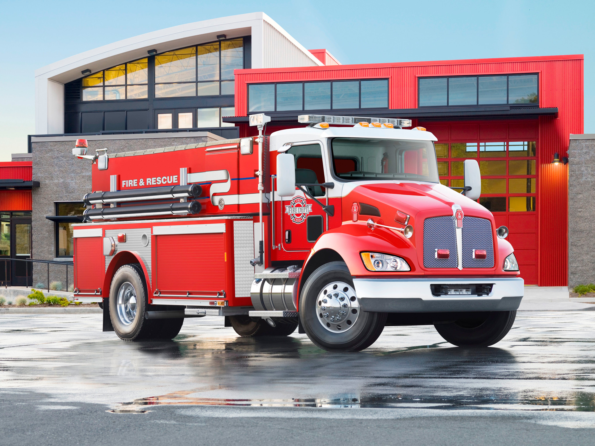 Fire truck wallpapers fire voltagebd Images
