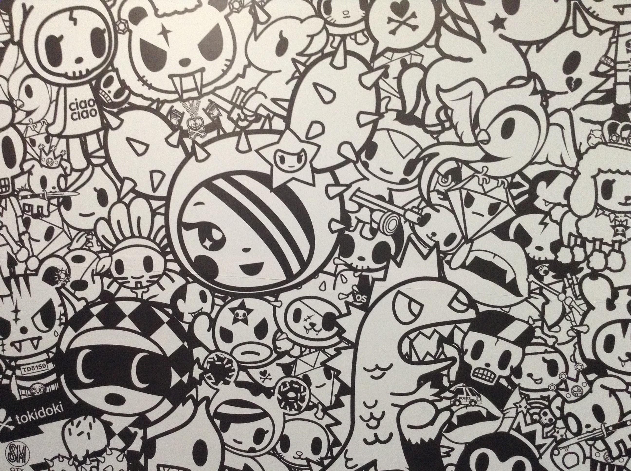 Tokidoki Unicorno Wallpaper
