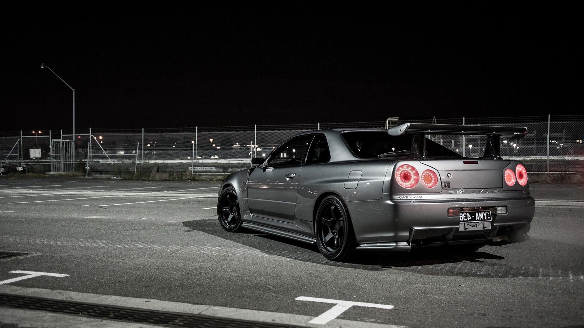 nissan skyline r34 wallpaper. Black Bedroom Furniture Sets. Home Design Ideas