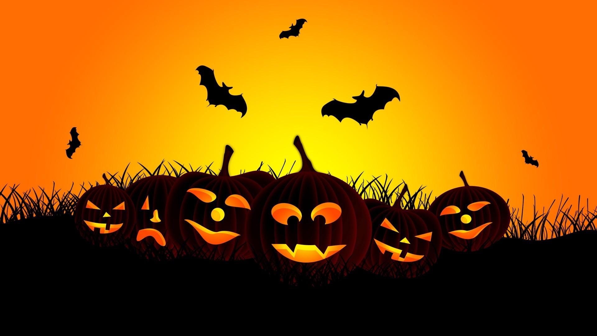 happy halloween background ·①