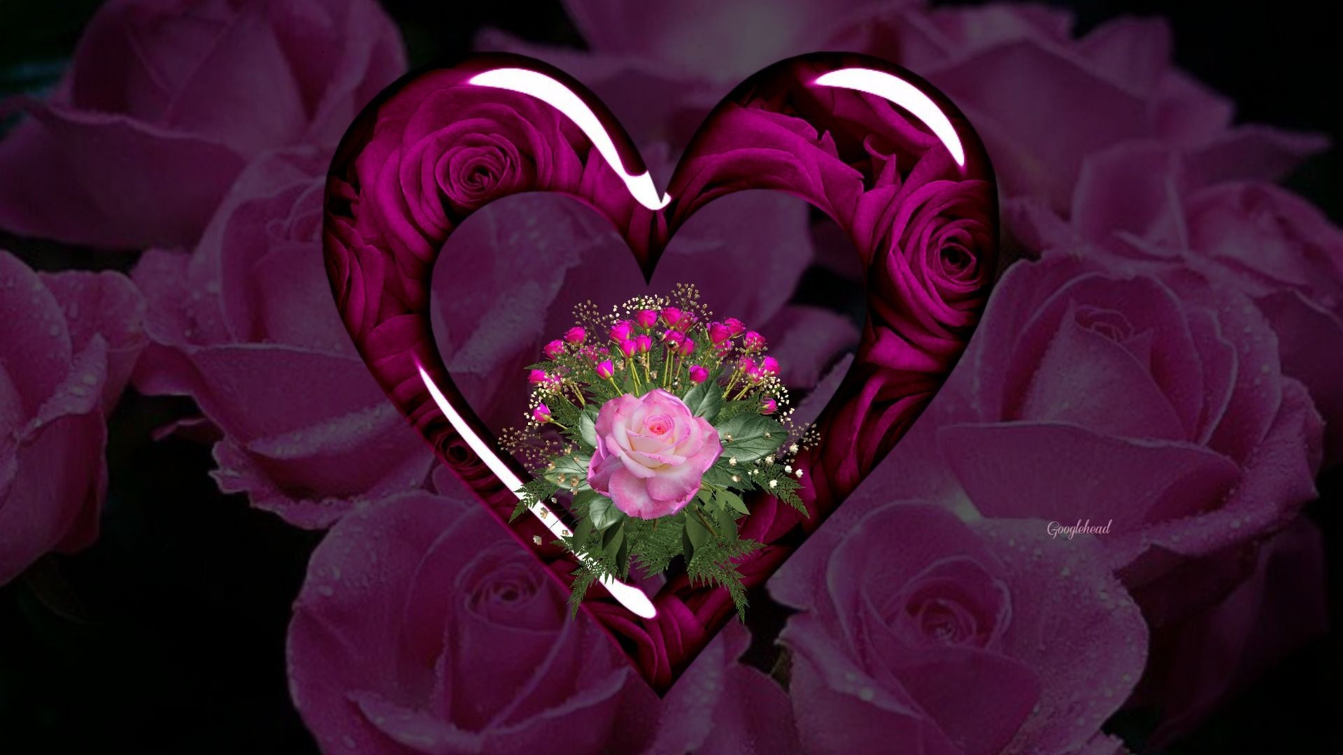 Purple Roses Background Images: Purple Hearts Wallpaper ·① WallpaperTag