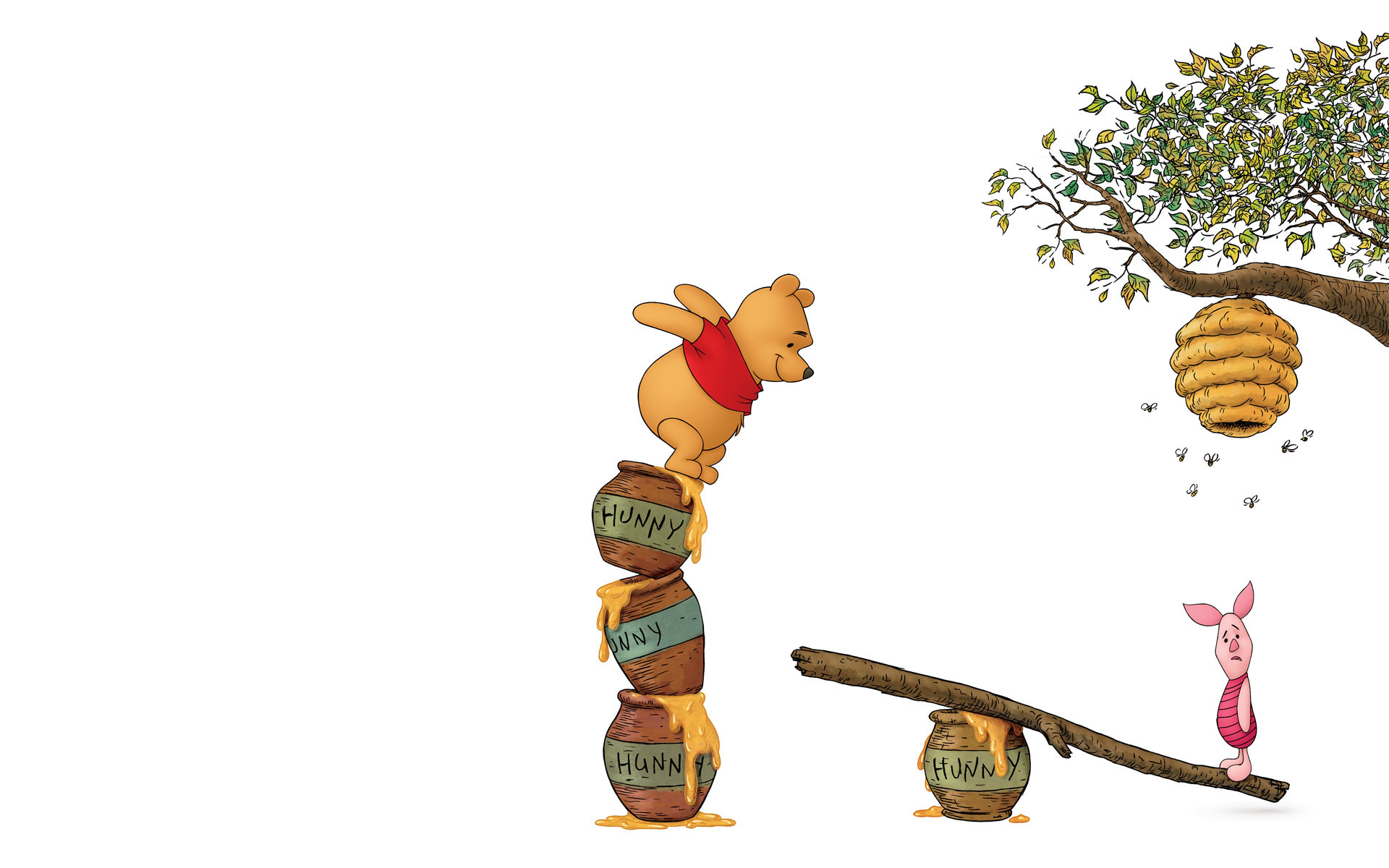 Pooh Bear Desktop Wallpaper Wallpapertag