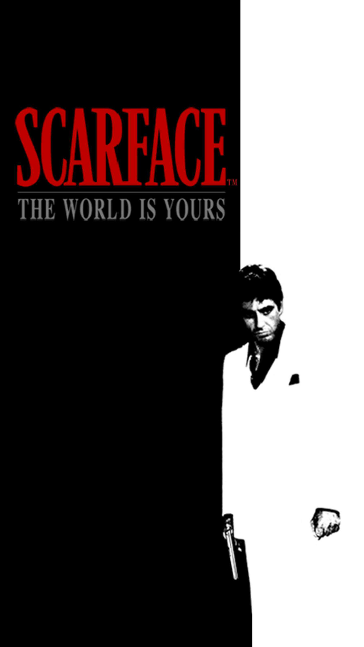 Scarface Movie IPhone Parallax 3Wallpapers