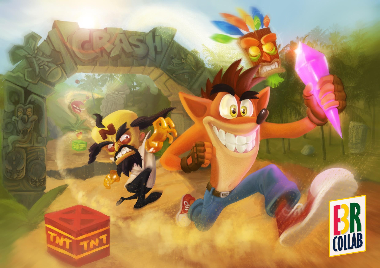 Crash Bandicoot Wallpaper Download Free High Resolution