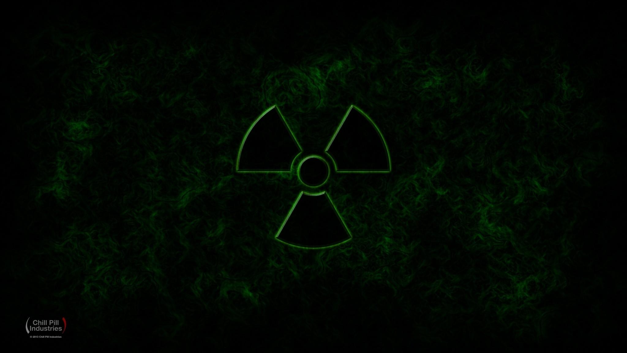 Radioactive Green Wallpaper ①