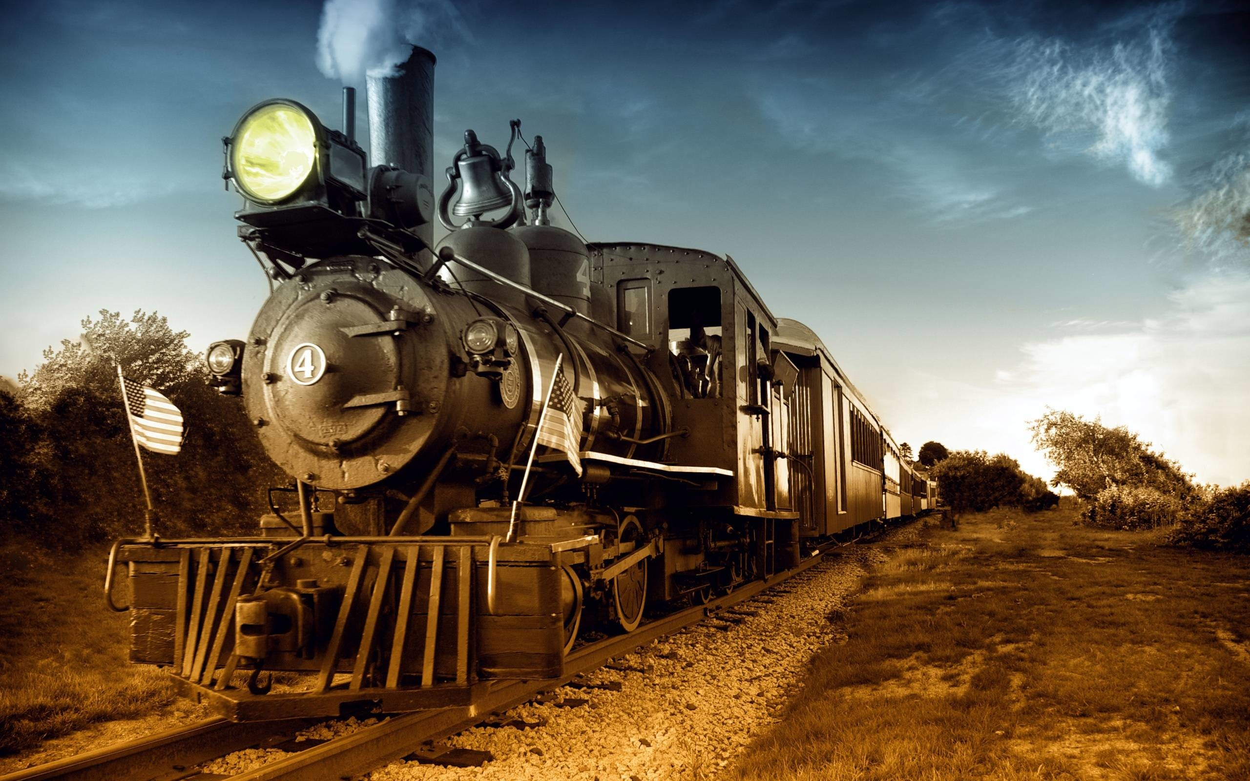 Steam Locomotive Wallpaper ①