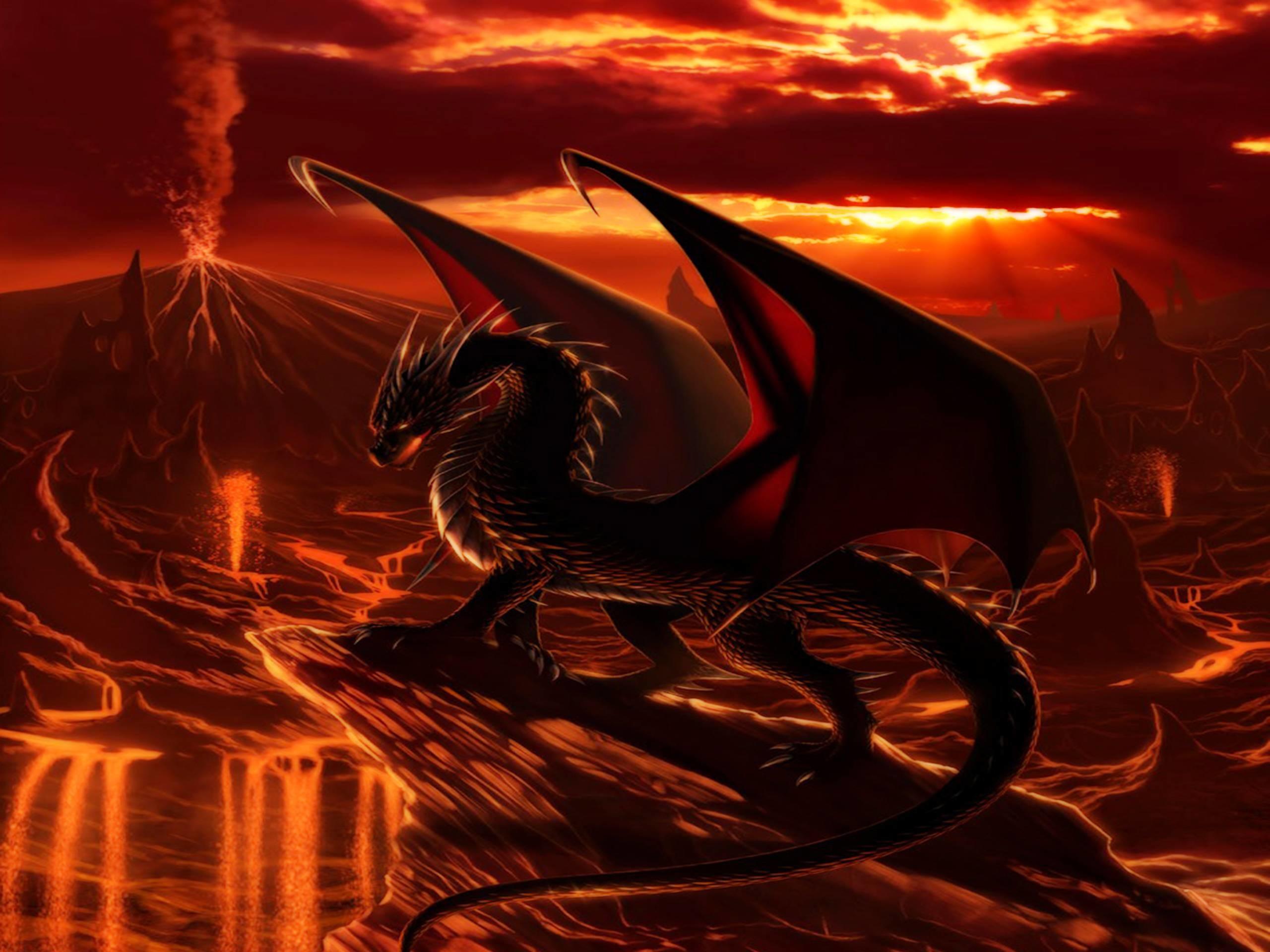 Red Dragon Wallpaper 1