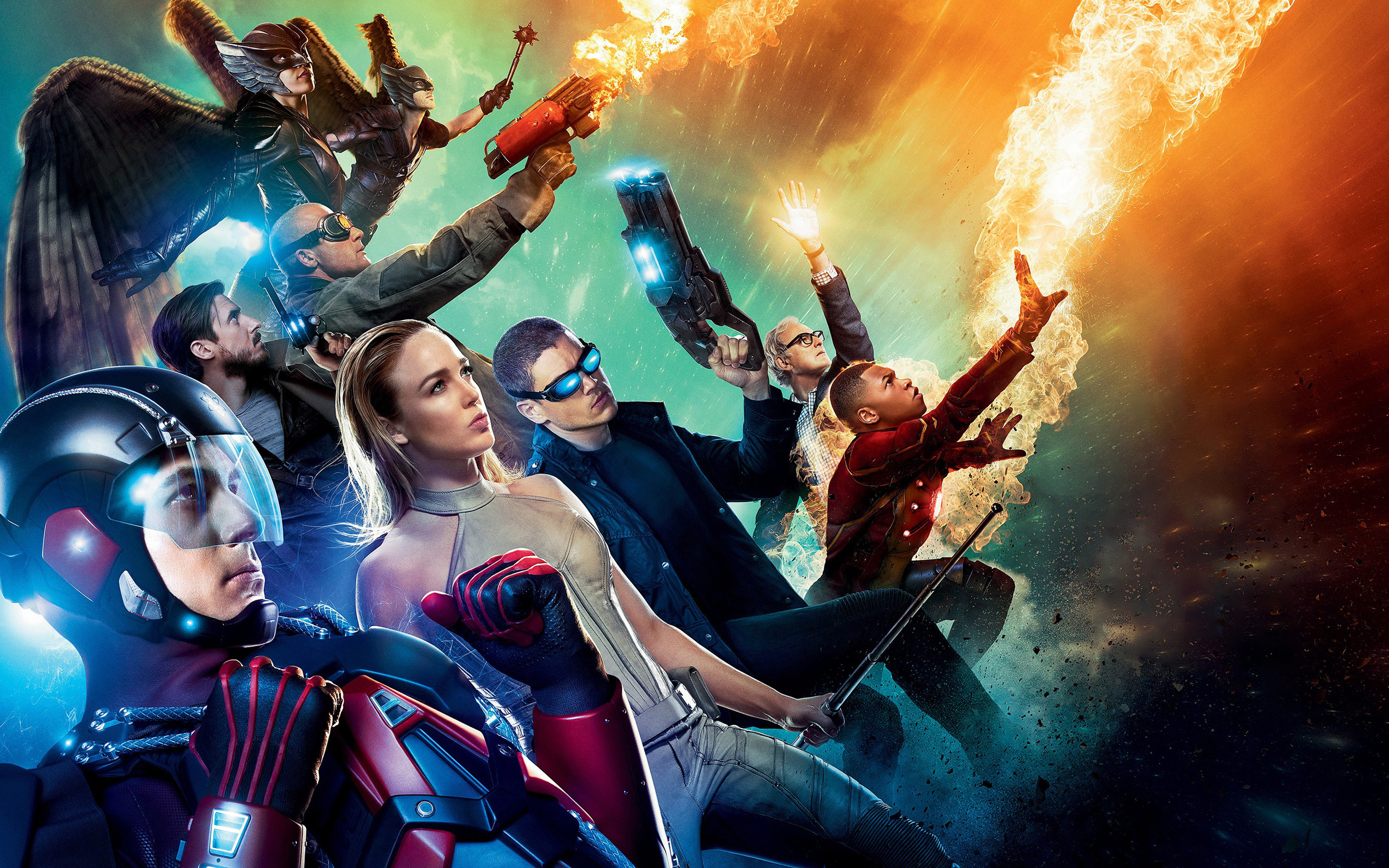 Legends Of Tomorrow Wallpapers Wallpapertag
