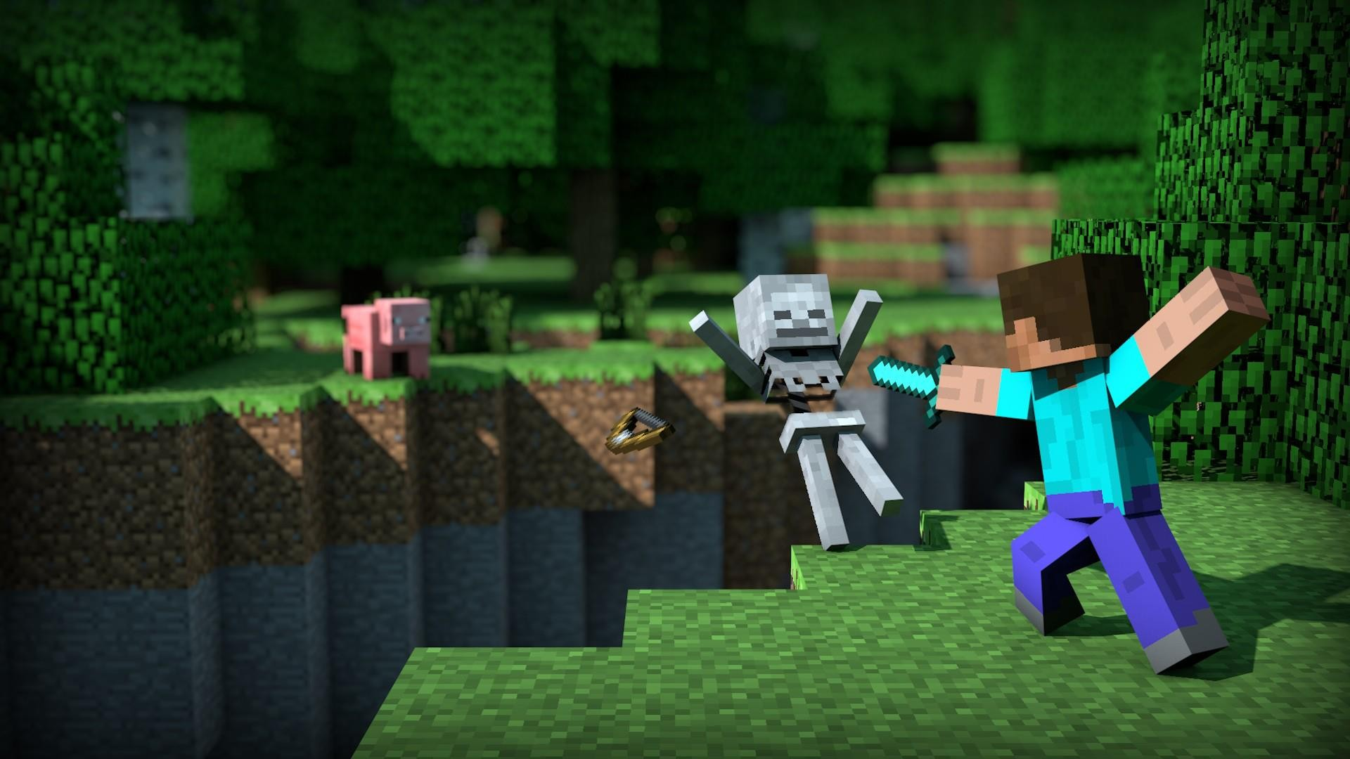 Minecraft wallpaper HD ·â' Download free awesome HD backgrounds