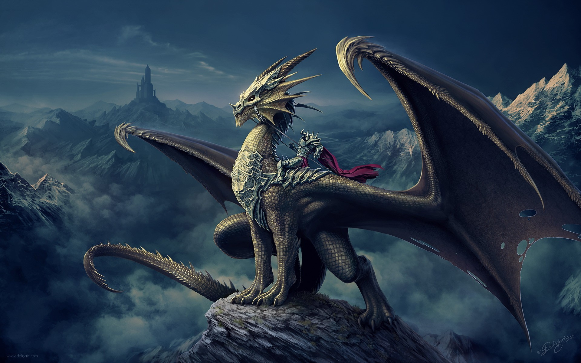 Cool Dragon Backgrounds ①