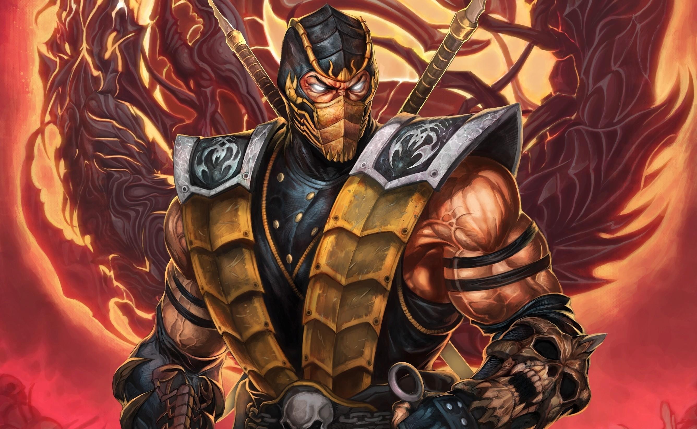 Mortal Kombat Wallpapers Scorpion 1