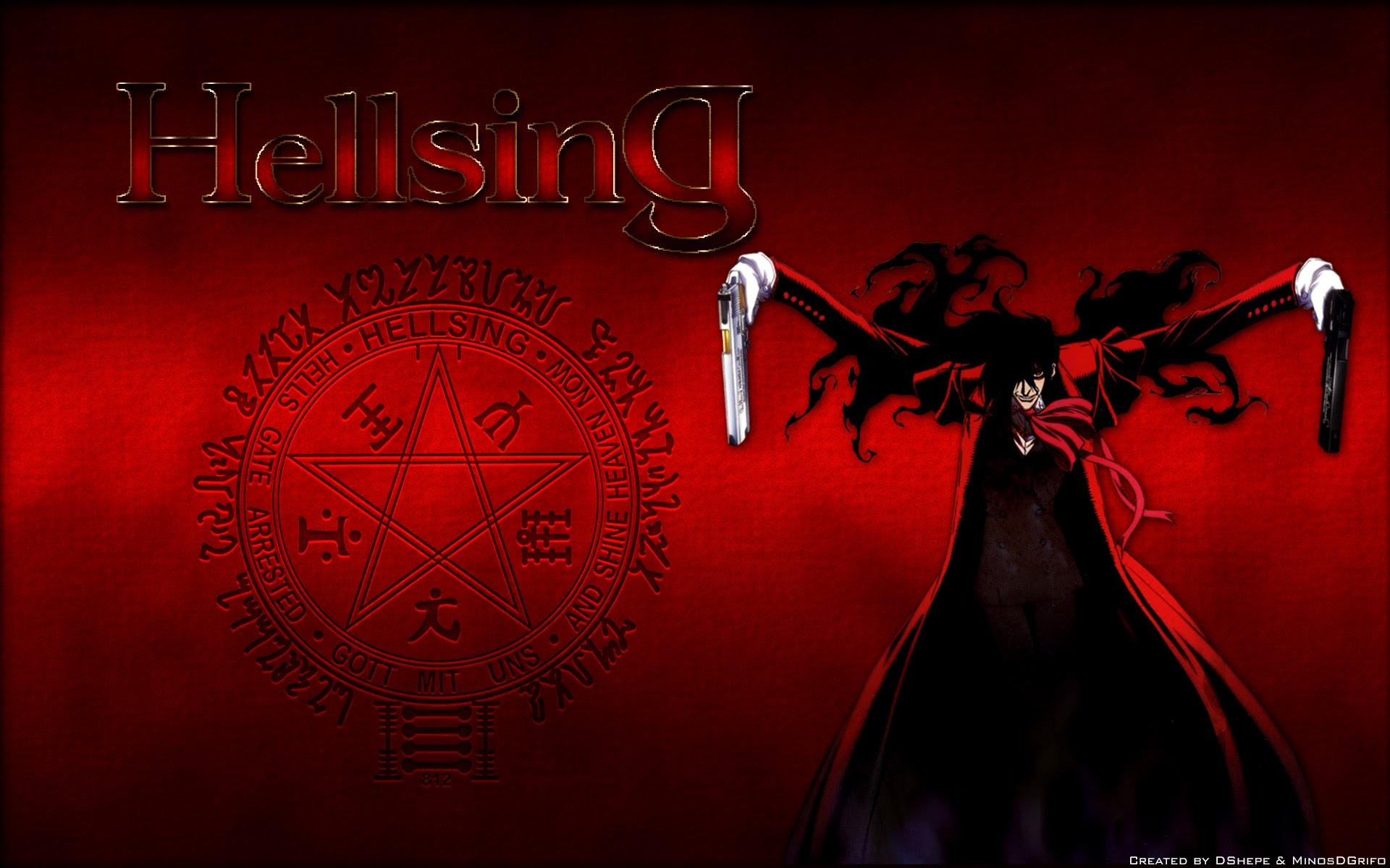 Hellsing Ultimate Wallpaper Download Free High Resolution