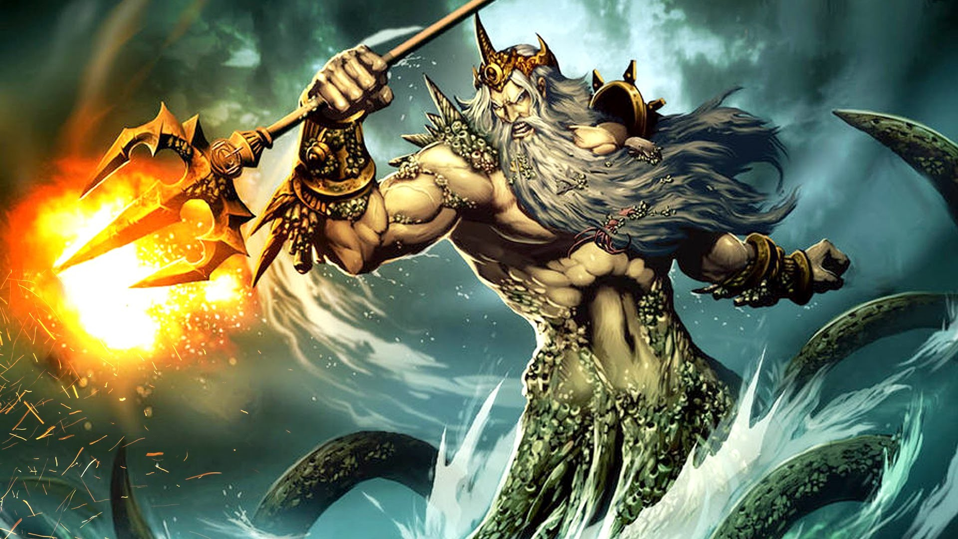 greek mythology and poseidon weapon choice Poseidon is the violent and ill-tempered god of the sea one of the twelve olympians, he was also feared as the provoker of earthquakes and worshipped as the creator of the horsea hot-blooded deity, poseidon had many disputes with both gods and men, most famously with athena and odysseus poseidon's role name poseidon's name is very old, and its meaning is lost to us.