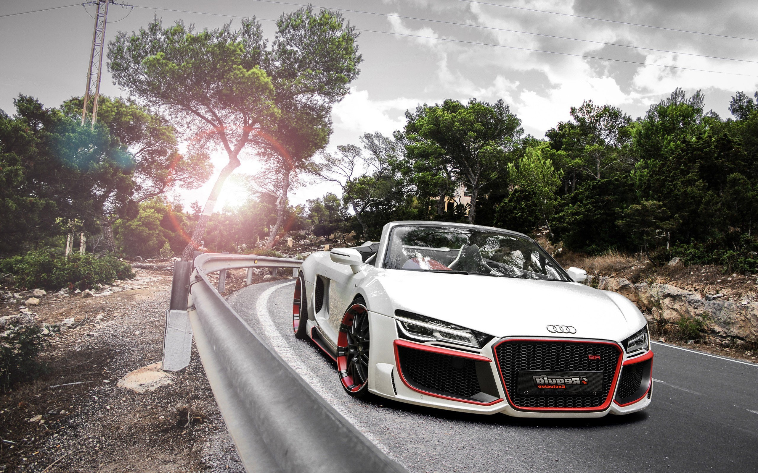 Audi R8 Spyder 2018 Wallpaper 183 ①