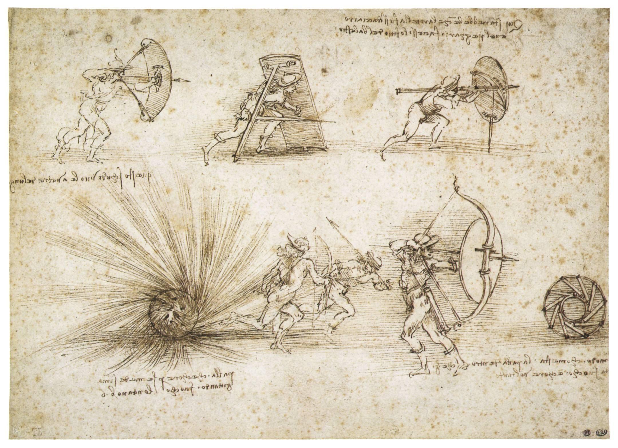 how to draw the vitruvian man