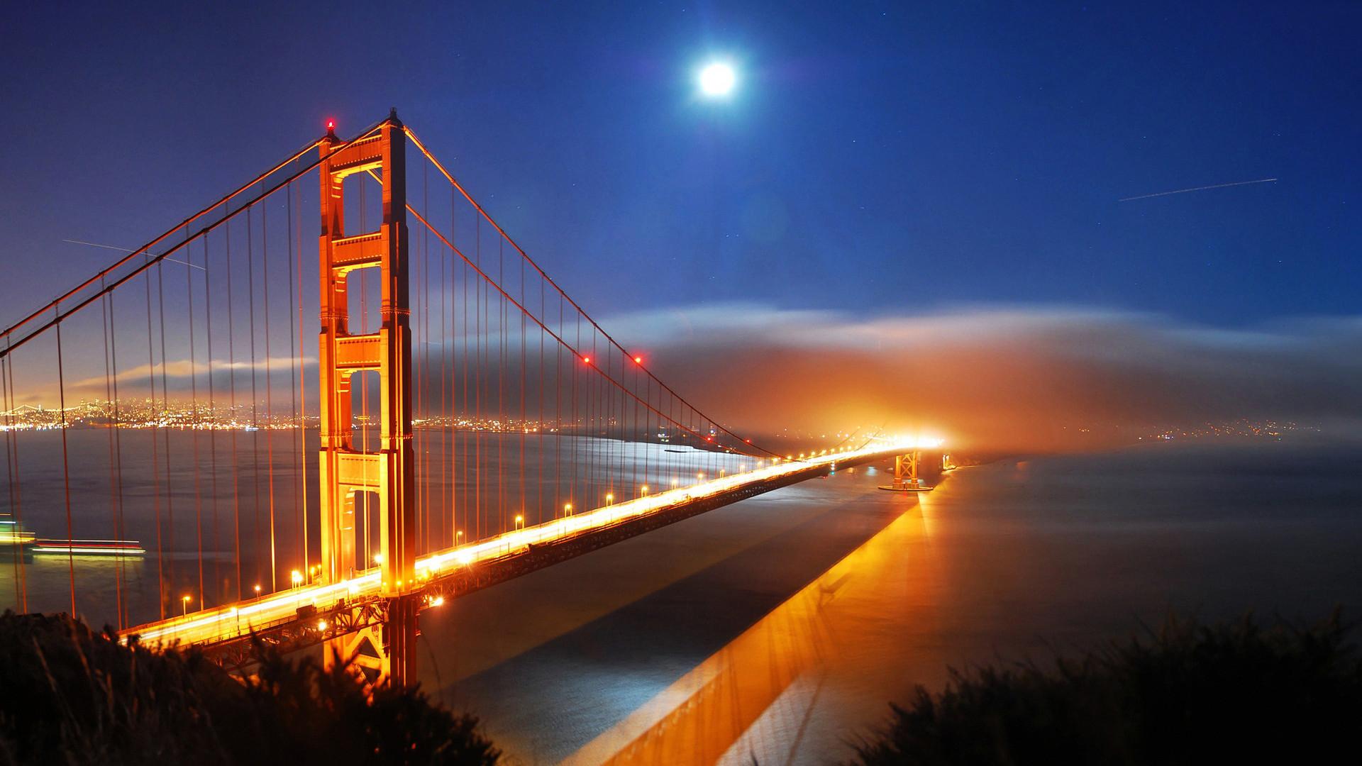 Golden Gate Bridge Fog Wallpaper Wide Desktop Wallpapers High