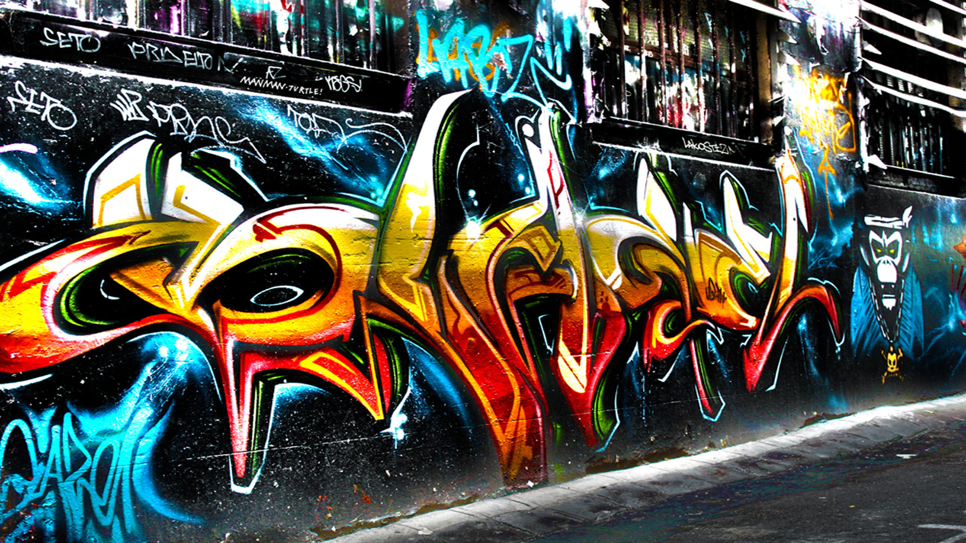 1920x1080 Graffiti Art Wallpapers Picture Download Free