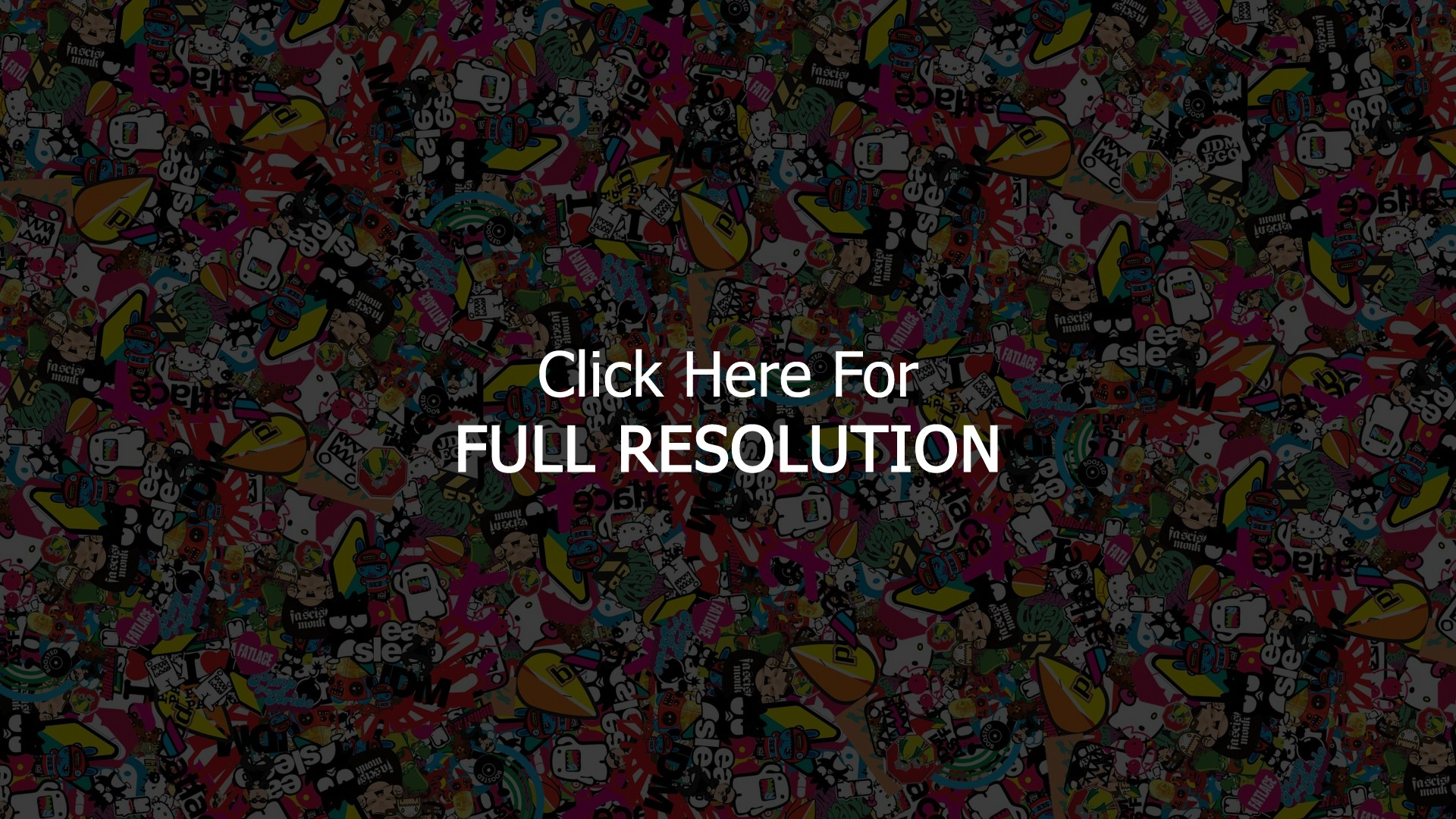 Jdm Sticker Bomb Wallpaper 227 Download 500