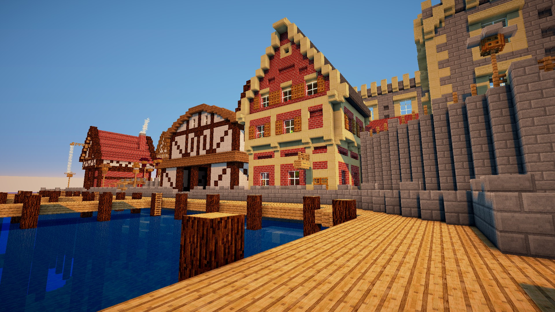 Minecraft Shaders Background ·① Download Free Full HD