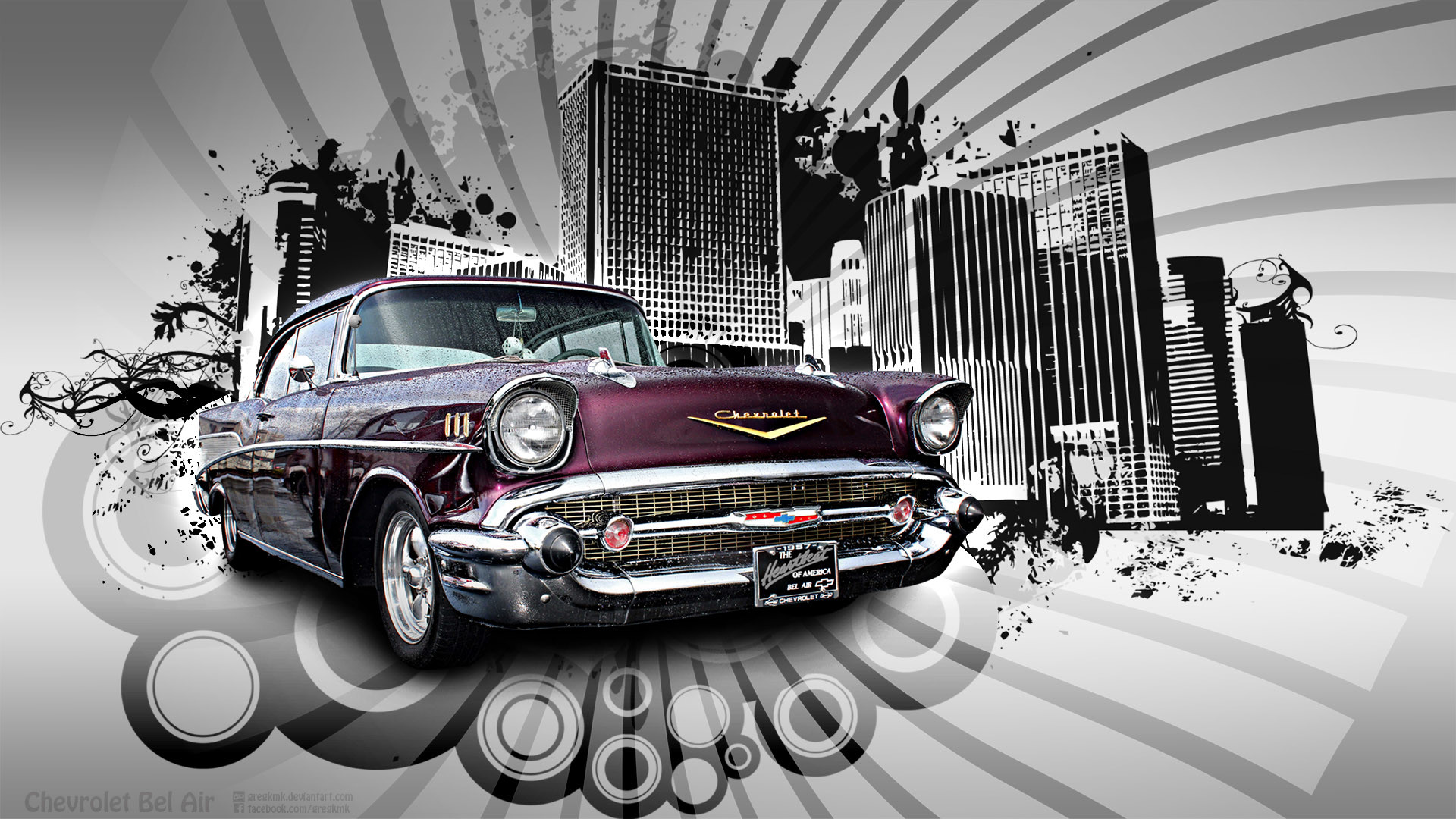 1957 Chevy Bel Air For Sale >> 57 Chevy Wallpaper ·① WallpaperTag