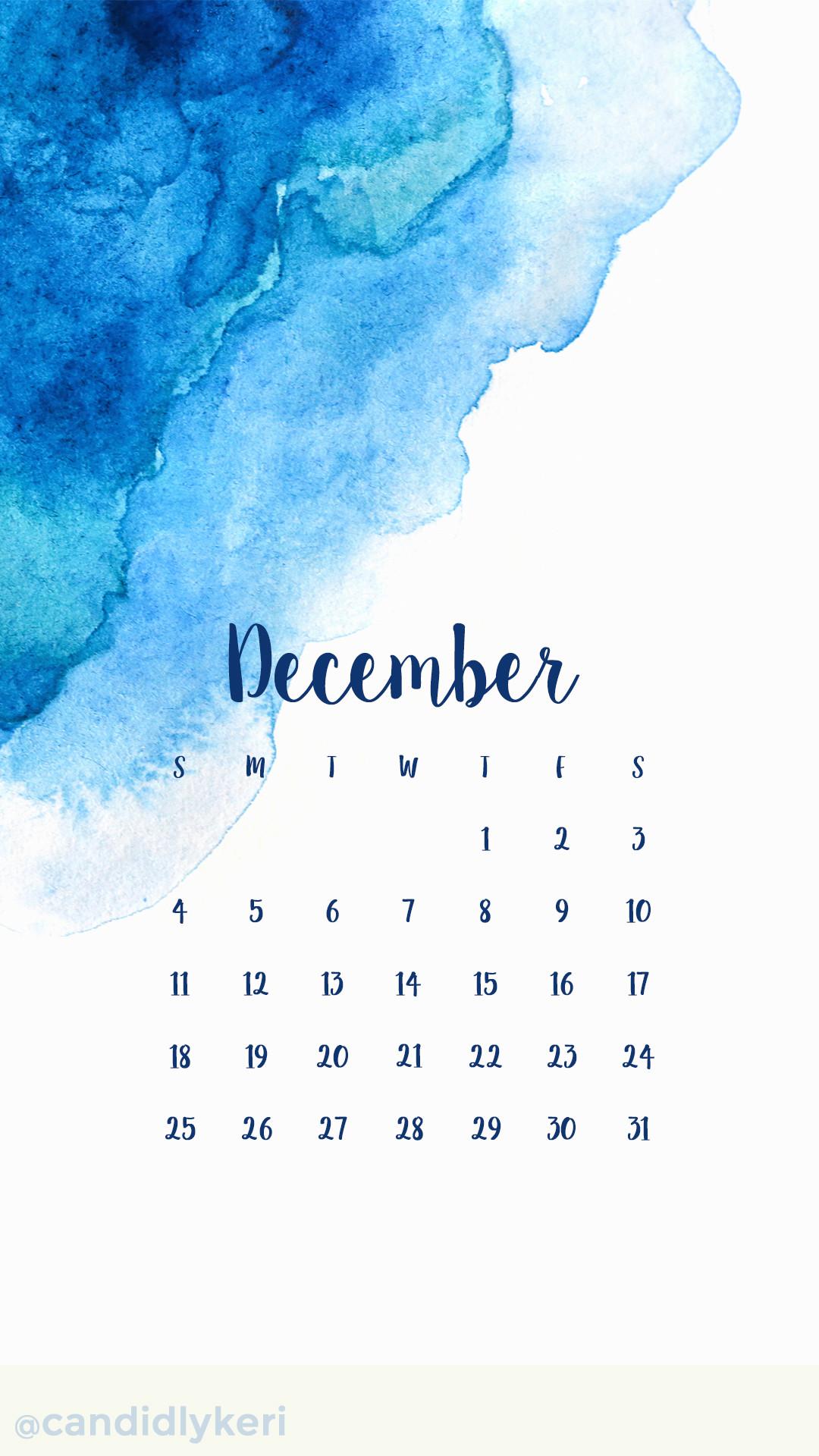 Desktop Wallpapers Calendar December 2018