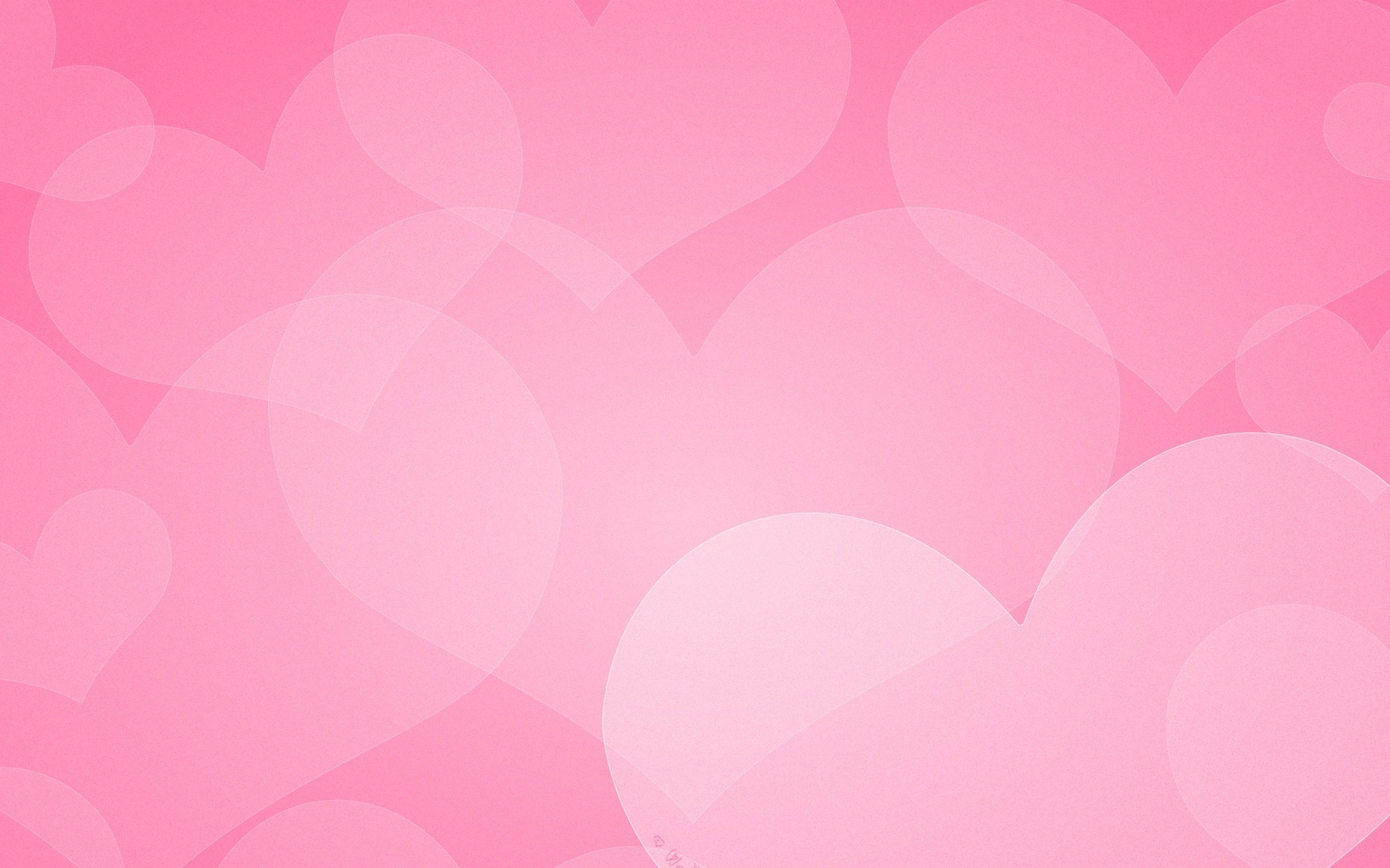Pink Hearts Wallpaper Wallpapertag