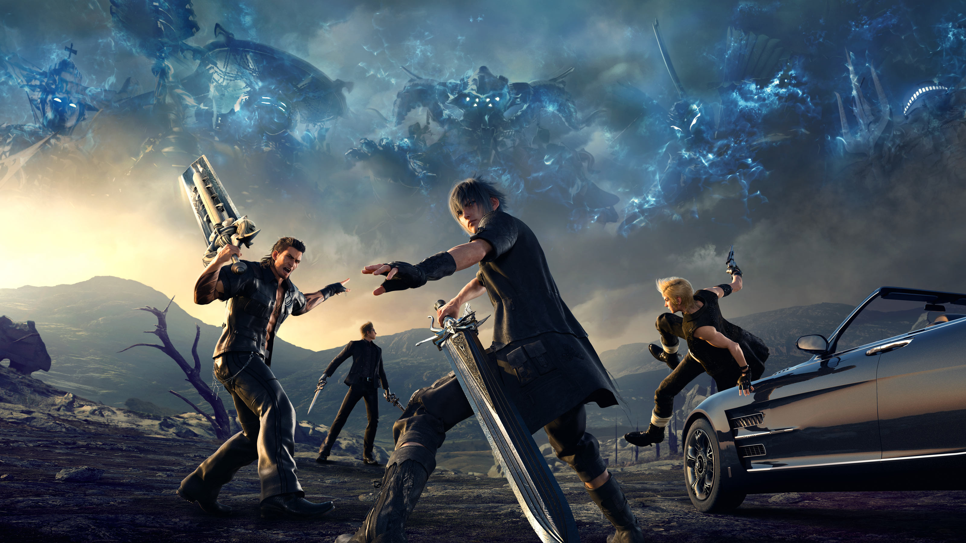 Final Fantasy Xv Wallpapers Wallpapertag