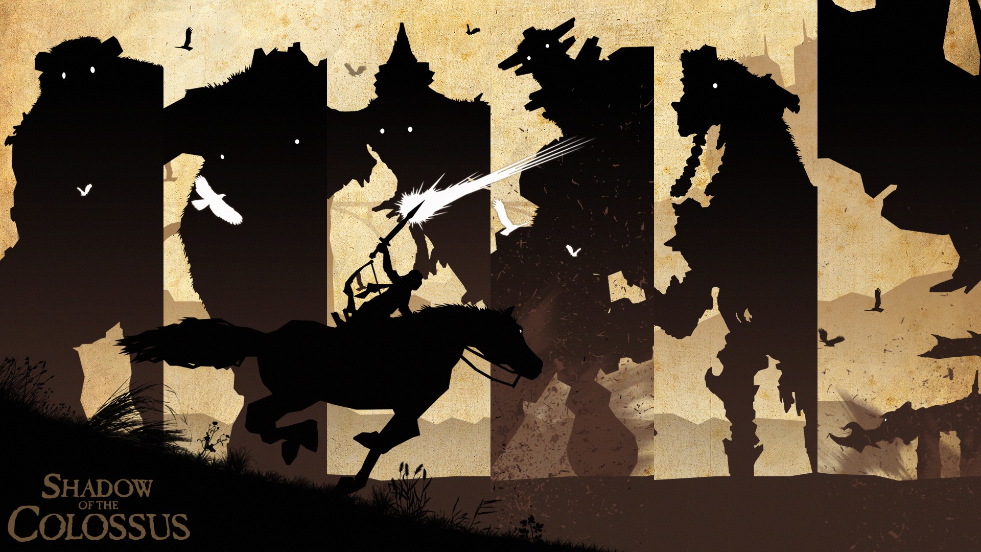 Shadow Of The Colossus Wallpaper Download Free Hd Backgrounds