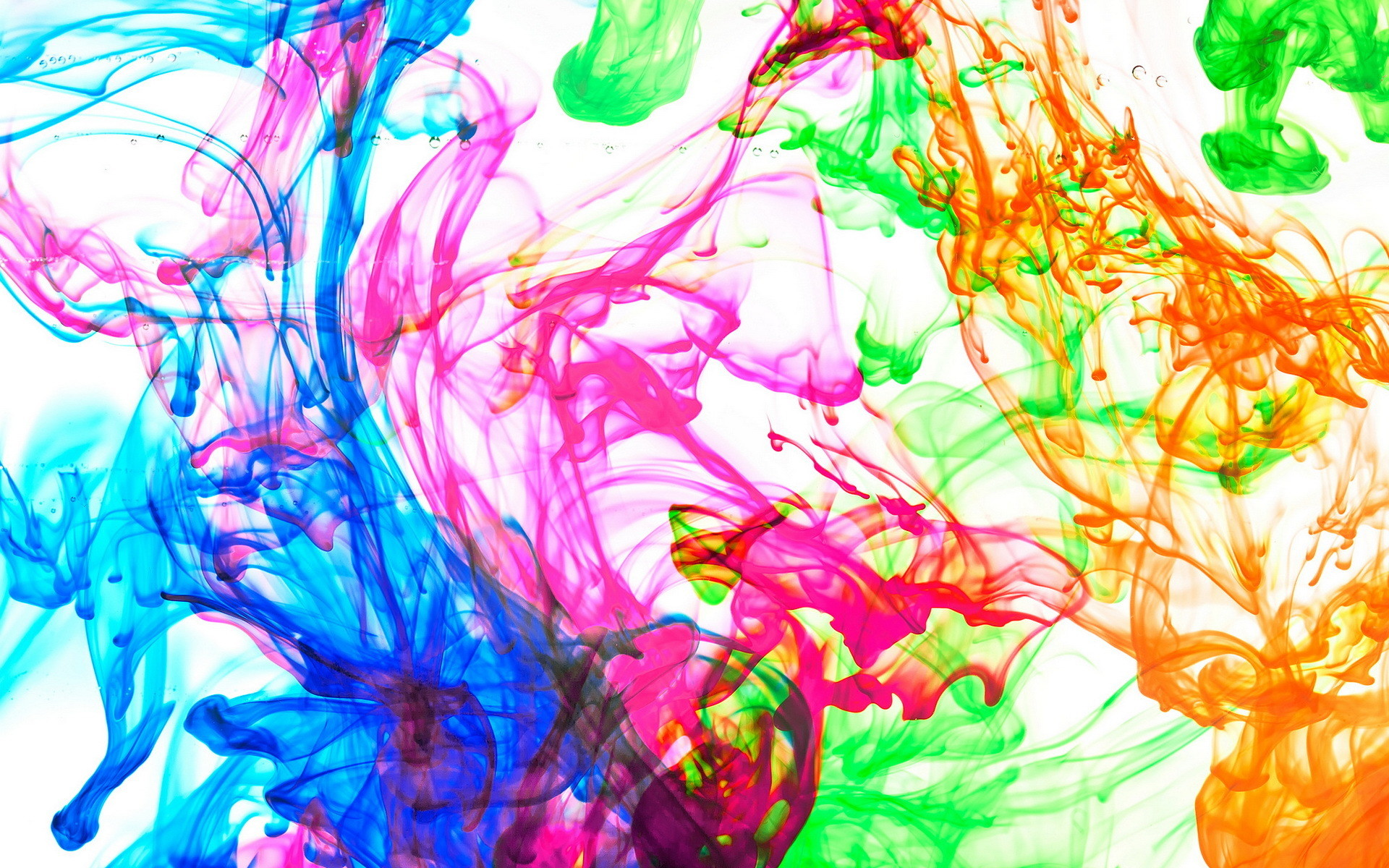 Splatter Paint Wallpaper ·①