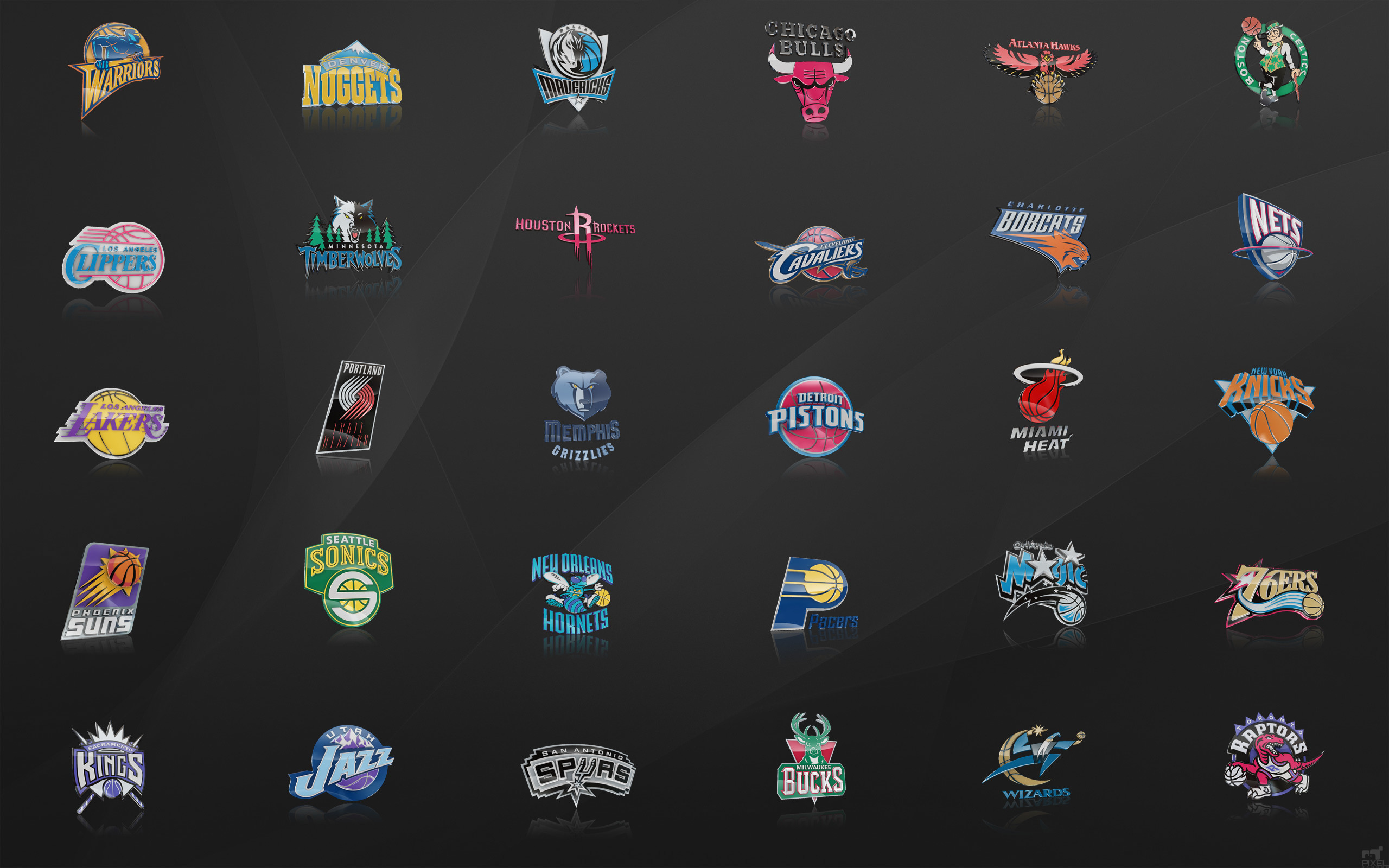NBA Team Logos Wallpaper 2018 ·① WallpaperTag