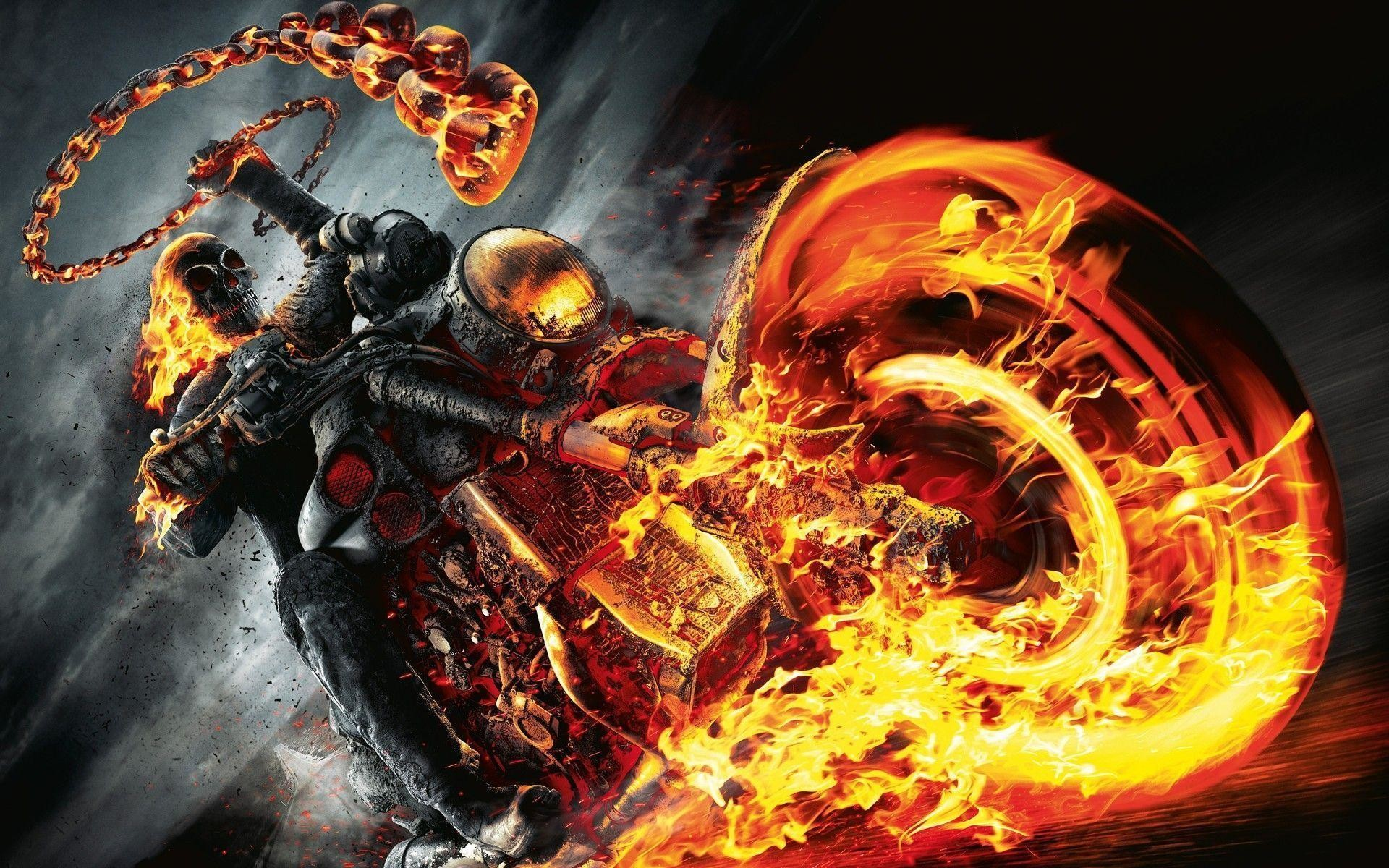 1920x1200 Most Downloaded Fire Skull Wallpapers