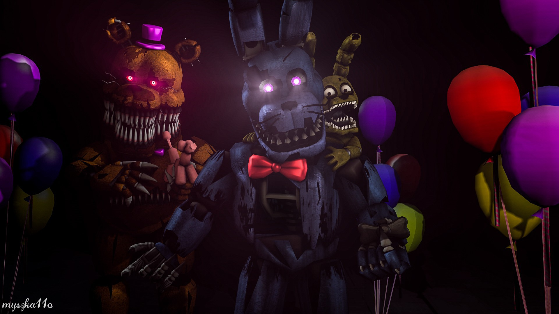 Five Nights At Freddy's wallpaper ·① Download free ...
