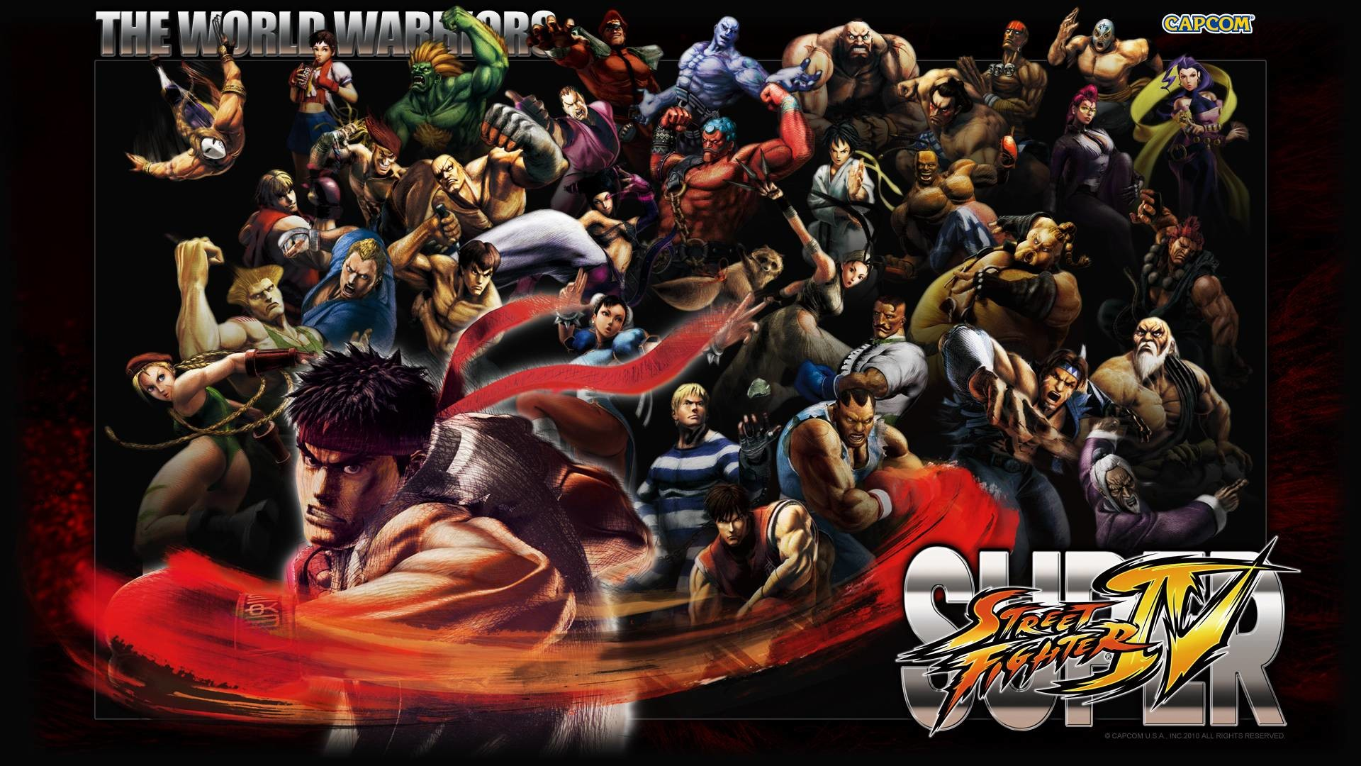Street Fighter 4 Wallpaper Wallpapertag