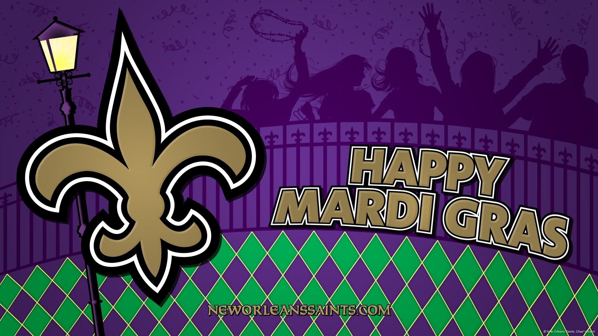 mardi gras desktop wallpaper ·①