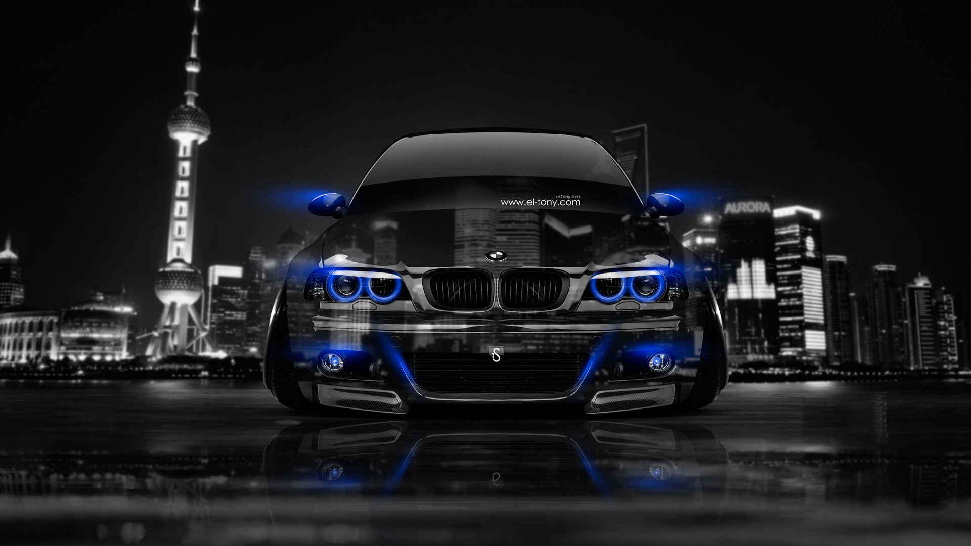 1920x1080 BMW M3 E46 Front Crystal City Car 2014  Ideas