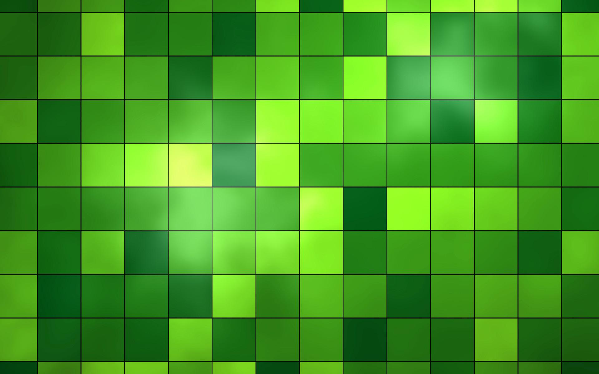 Abstract Green Wallpaper 1