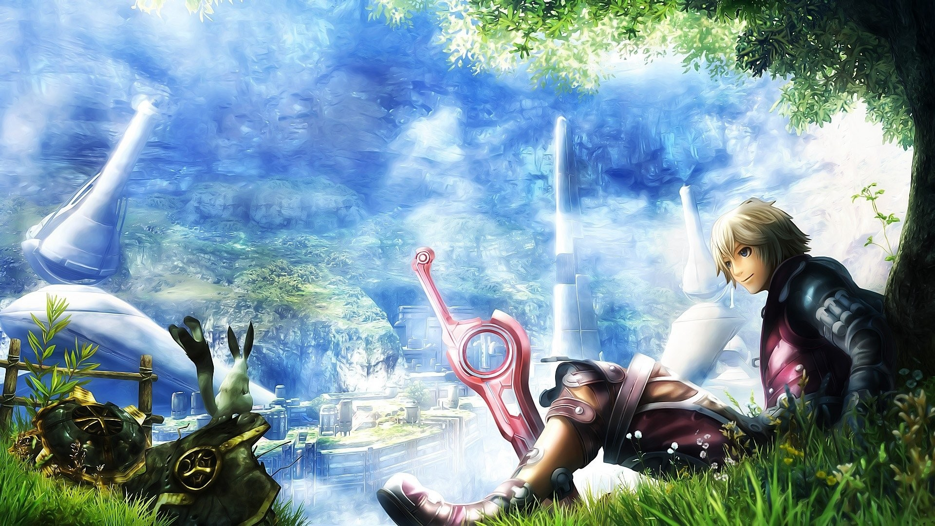 Xenoblade Chronicles Wallpapers Wallpapertag